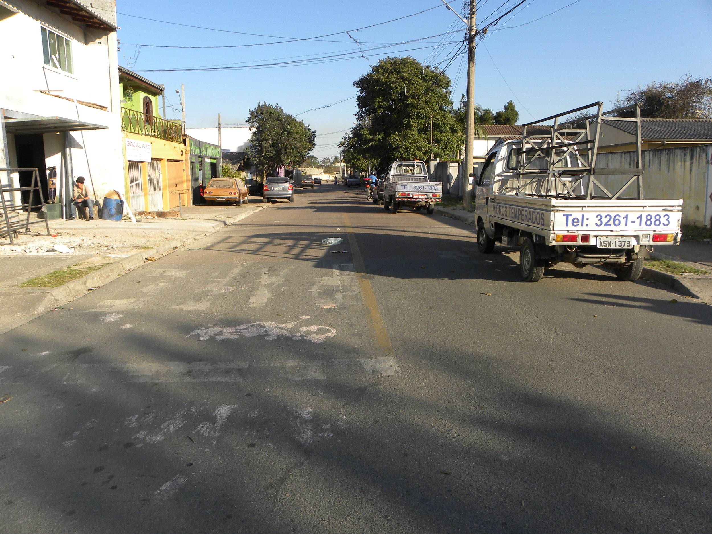 Pavimentação da Rua Dante Melara entre a Rua Sebastião Marcos Luiz e Rua Liberato E. do Prado
