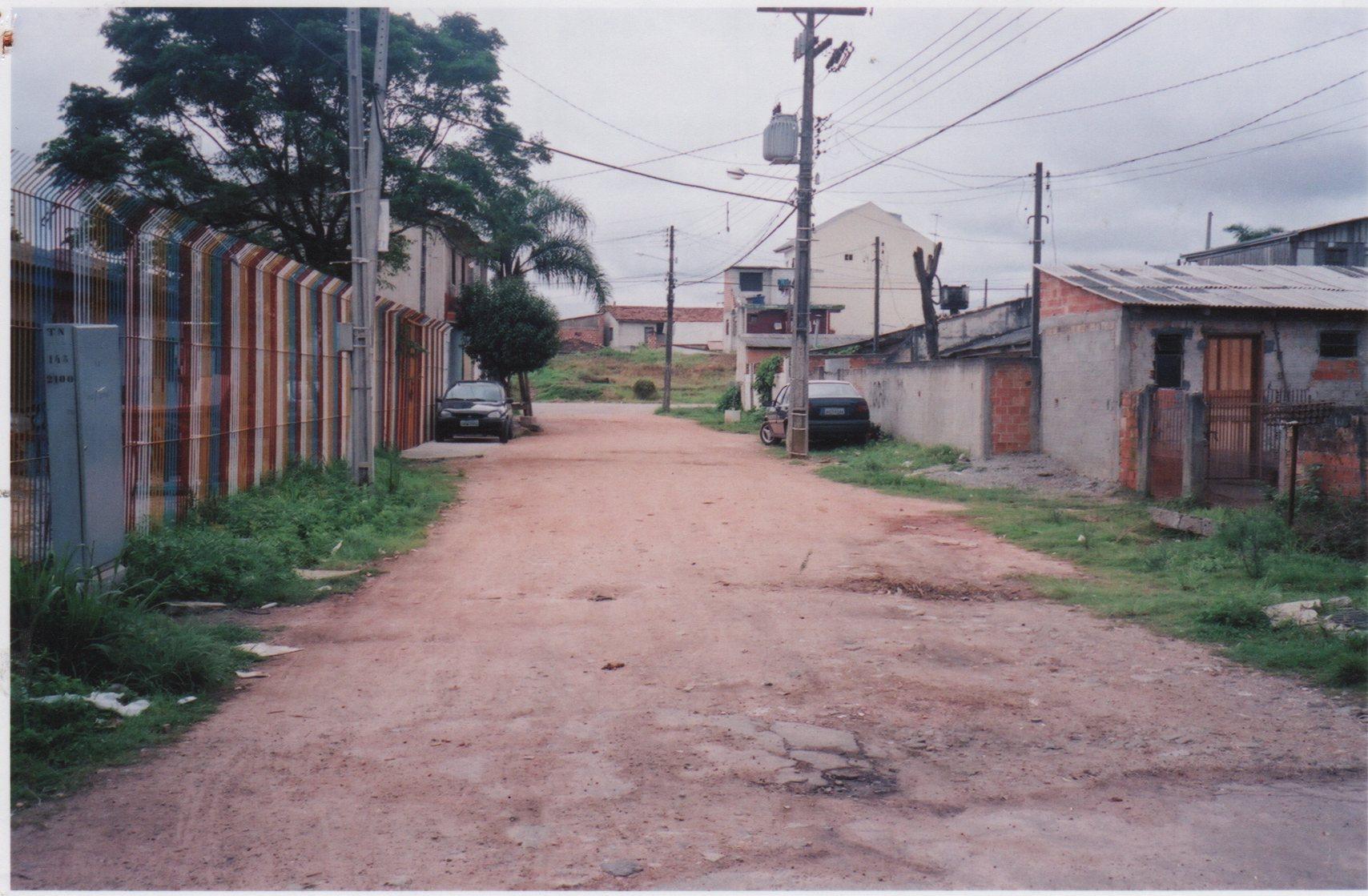 Pavimentação na Rua Fernando Zibarth - ANTES