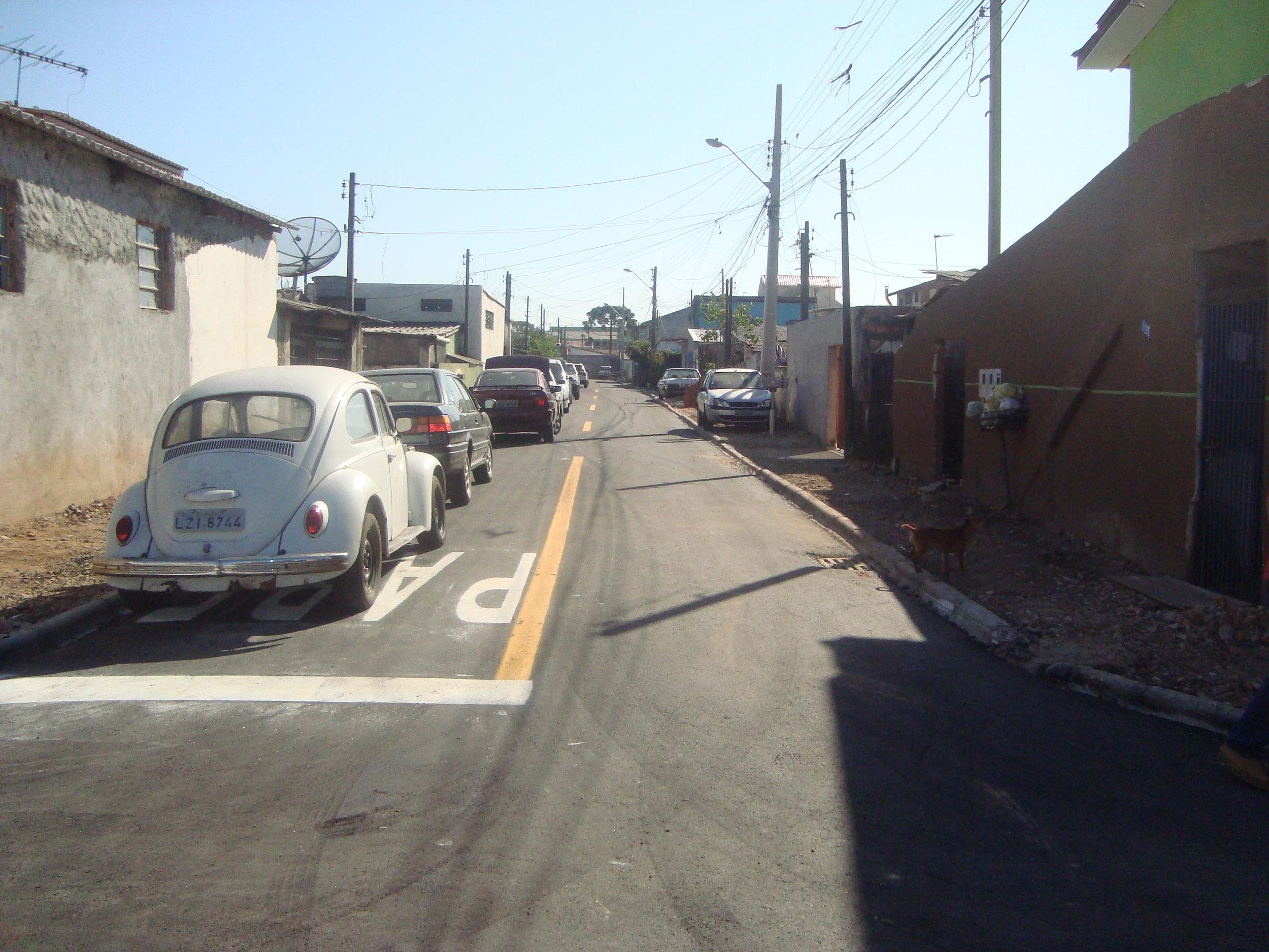 Pavimentação na Rua Gov. Algacir Guimarães - DEPOIS