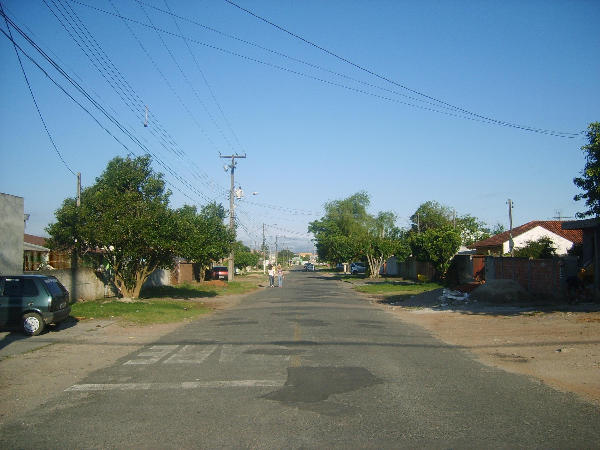 Revitalização da Rua Lírio do Vale - ANTES