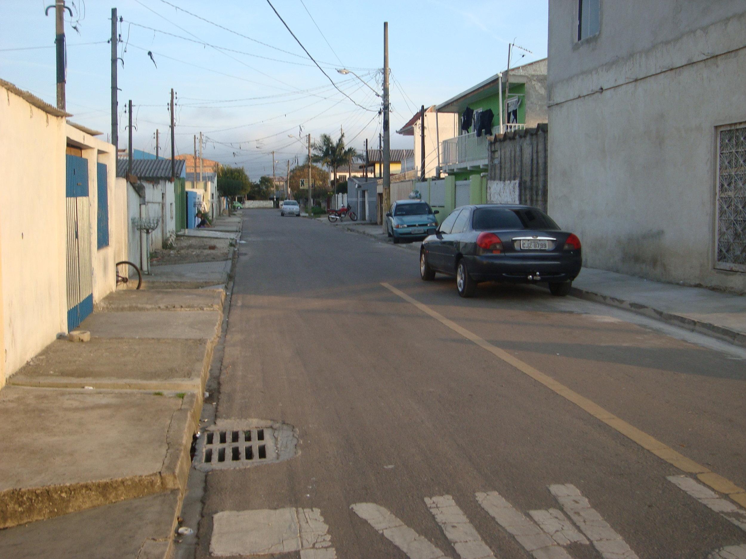 Pavimentação na Rua Alice Michaud - DEPOIS
