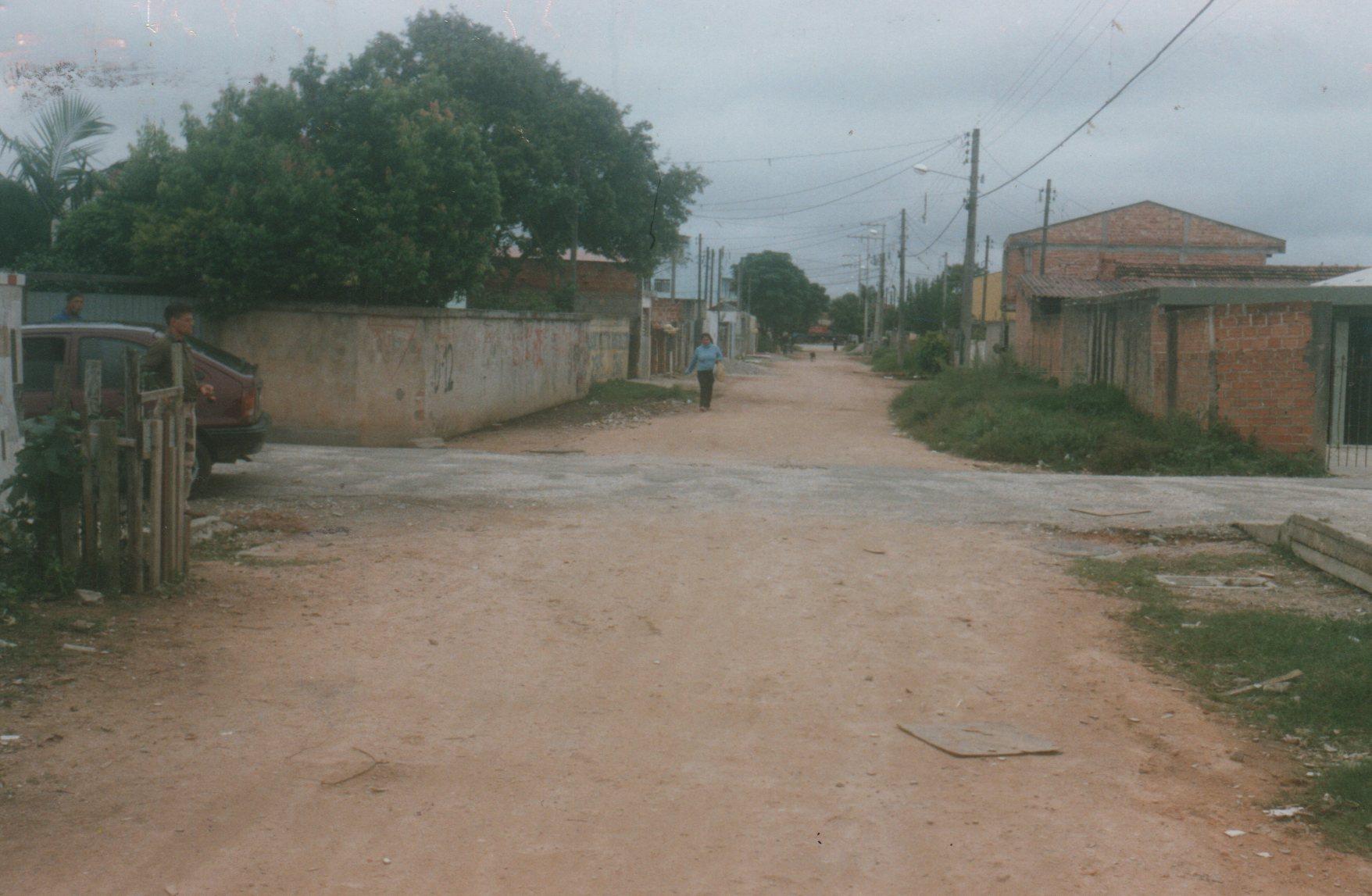 Pavimentação na Rua Amin Abil Russ - ANTES