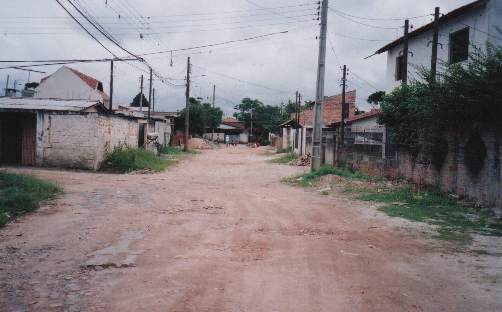 Pavimentação na Rua Antônio de Oliveira - ANTES