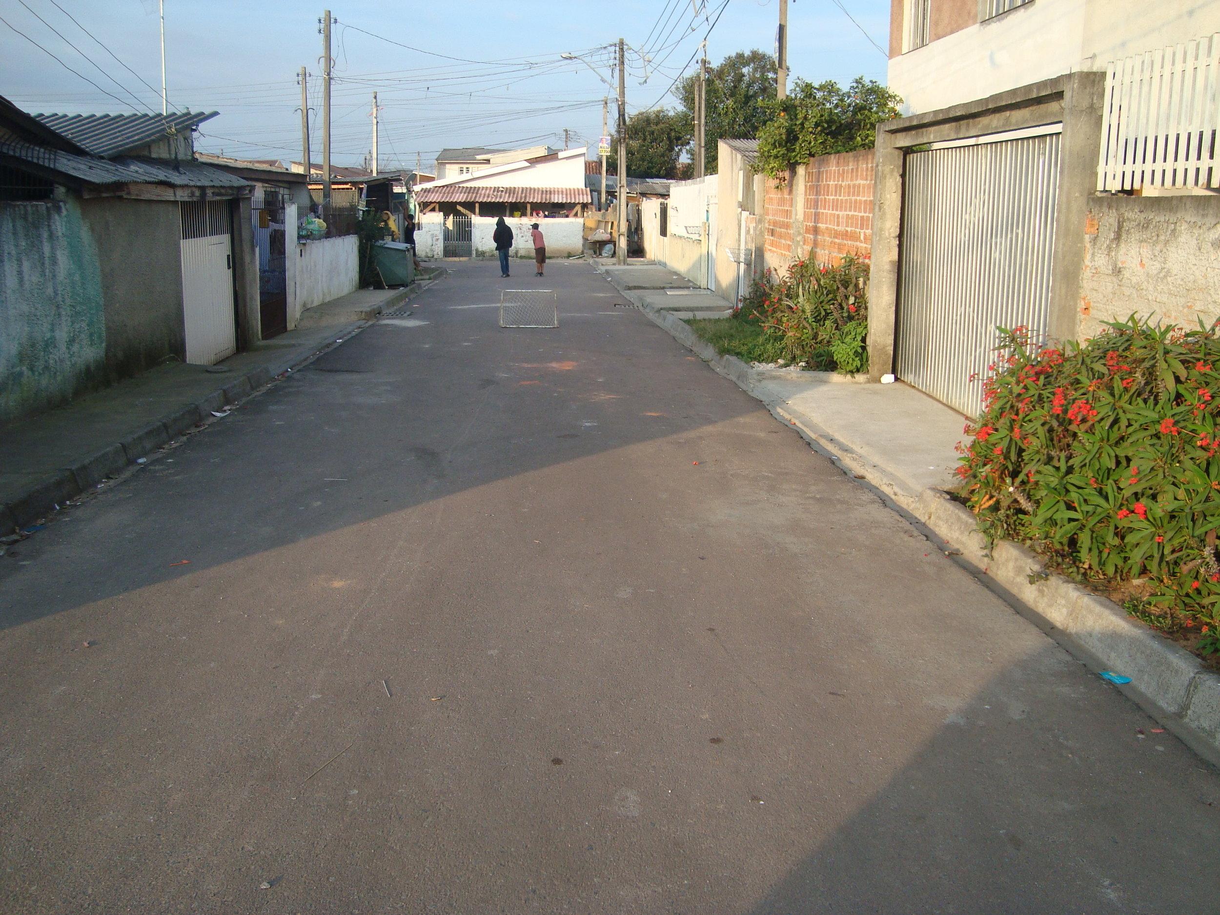 Pavimentação na Rua Dr. Heraldo de Oliveira Mello - DEPOIS