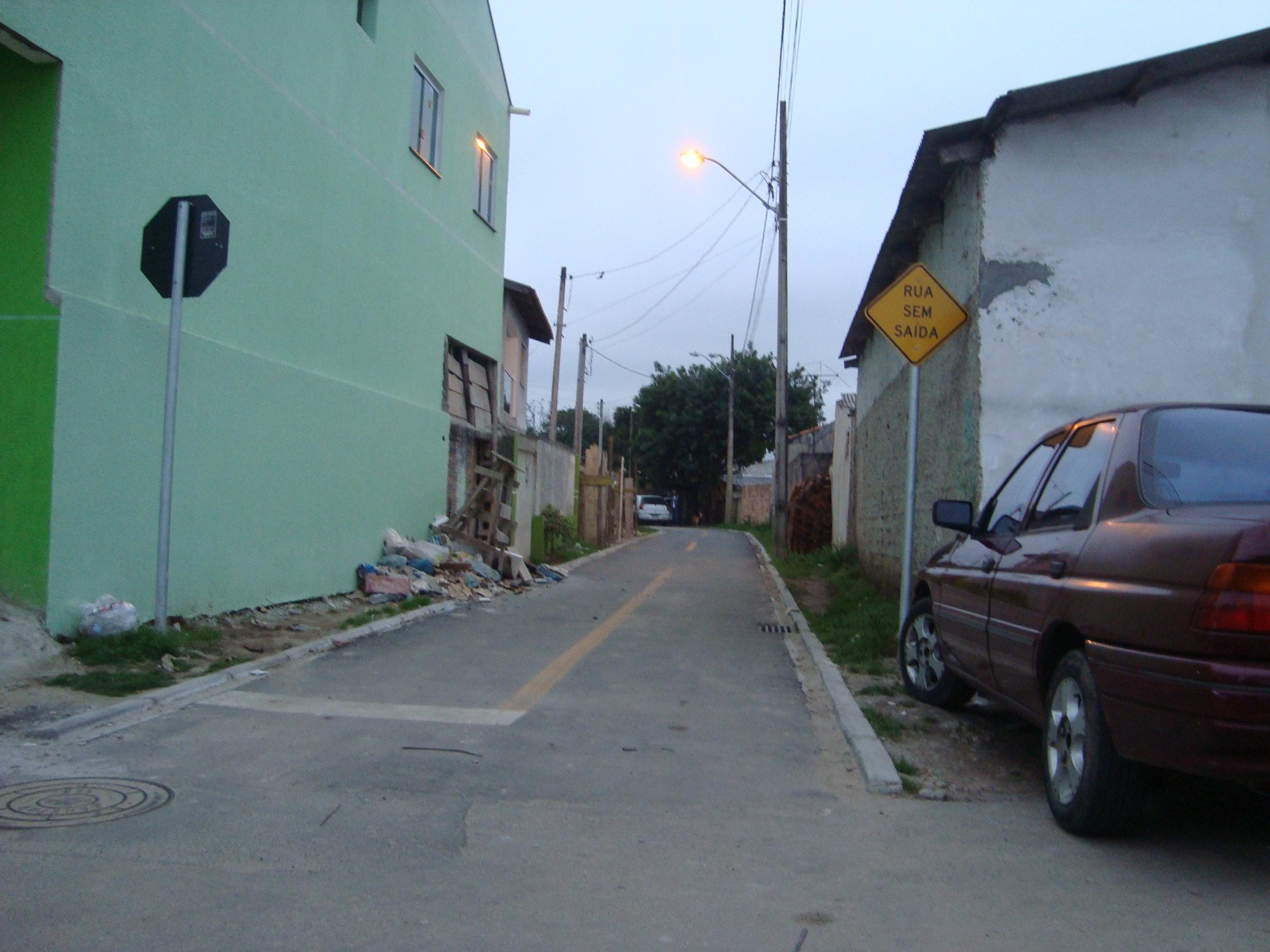 Pavimentação na Rua Fábio Ramos - DEPOIS