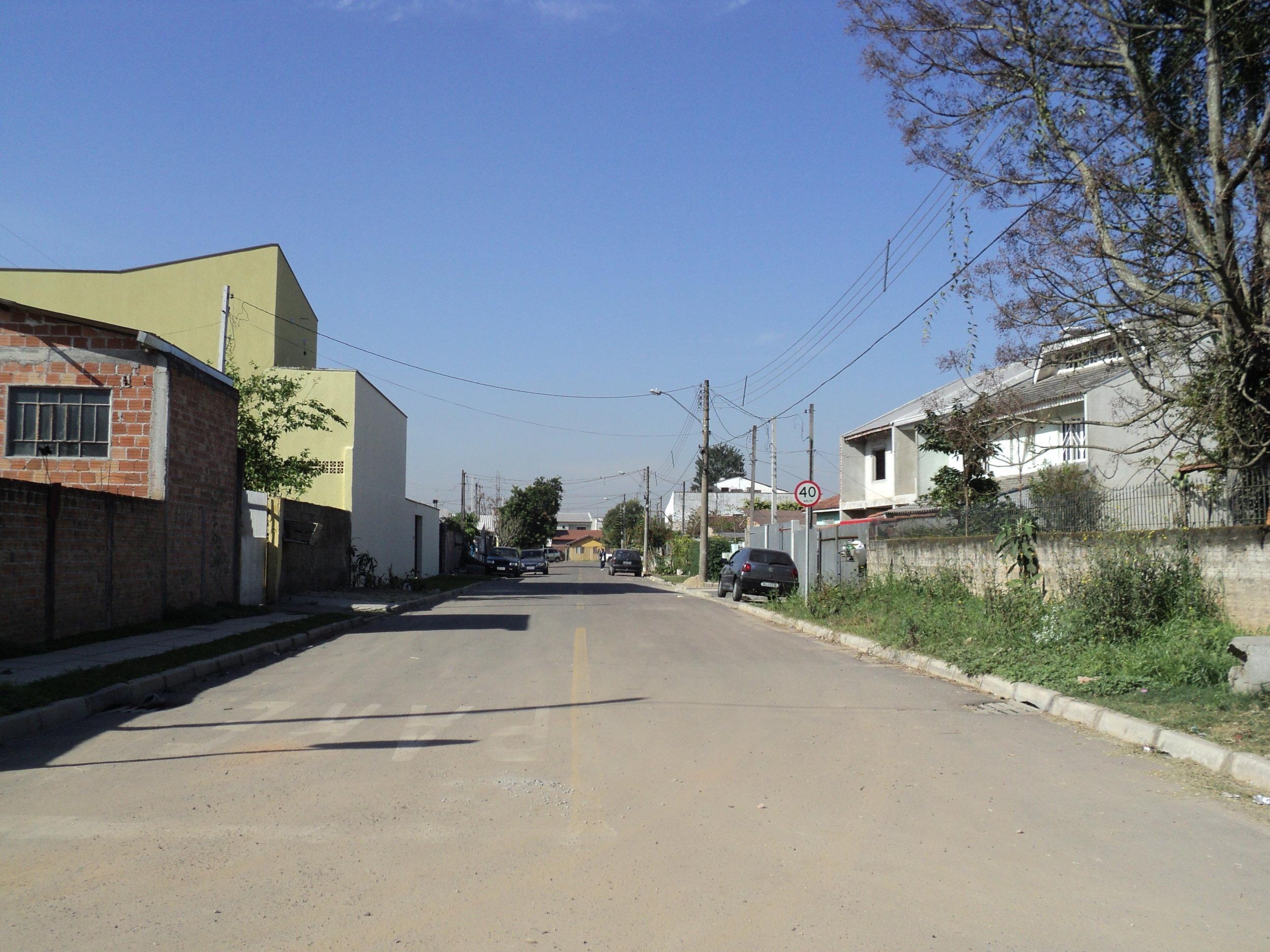 Pavimentação na Rua Lauro Pastre - DEPOIS