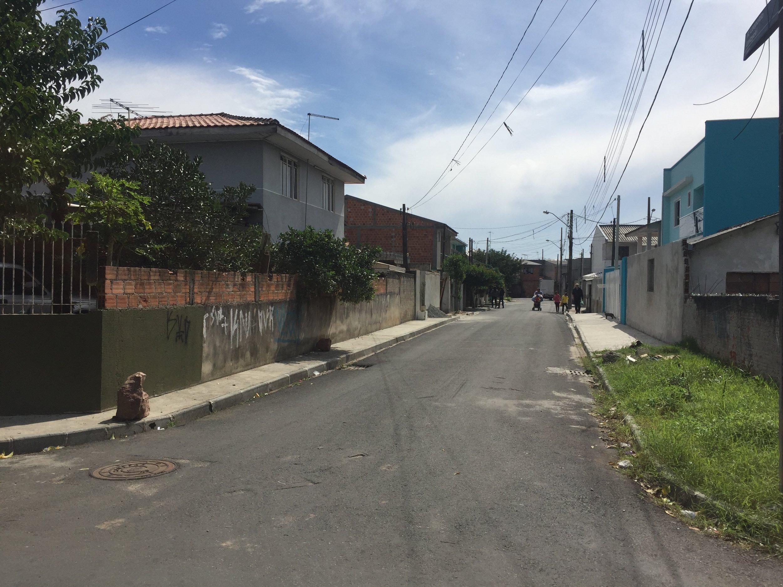 Pavimentação na Rua Leopoldo Unizycki - DEPOIS