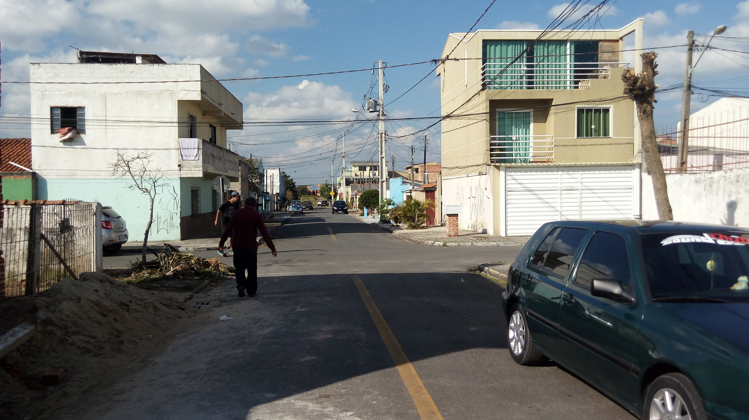Pavimentação na Rua Prof. Rui José Rache - DEPOIS