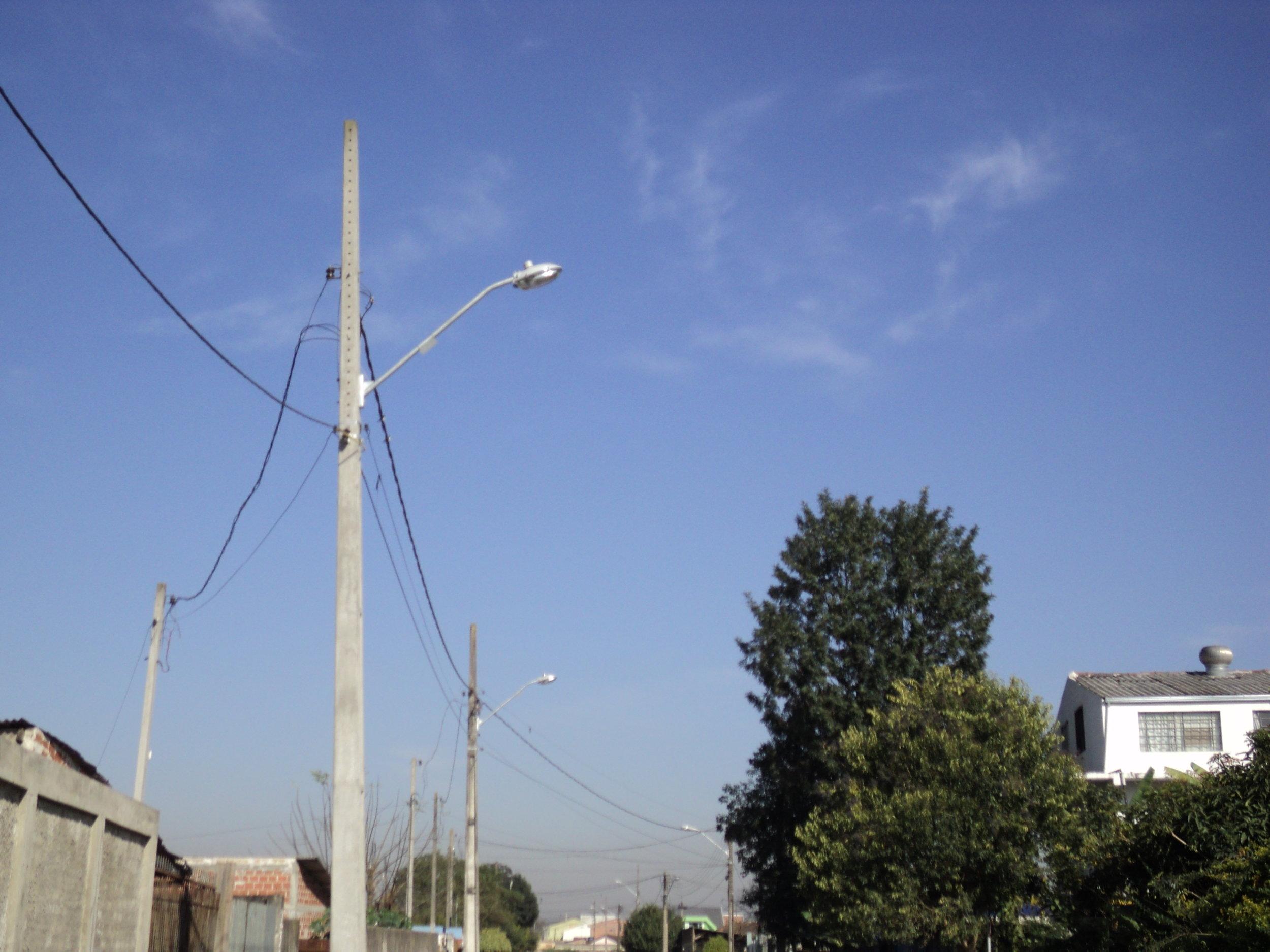 Implantação de iluminação na Vila São Domingos