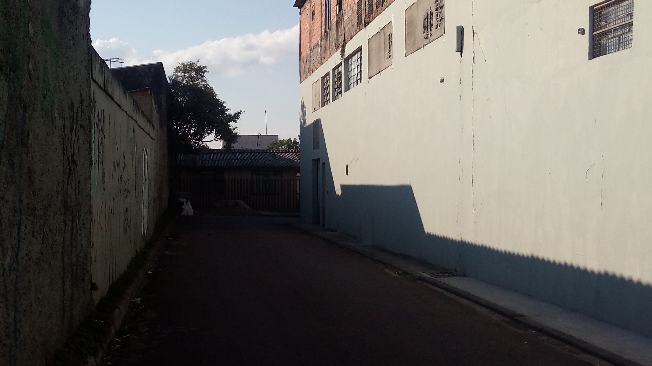 Pavimentação na Rua José Antônio dos Santos - ao lado do Mercantiba