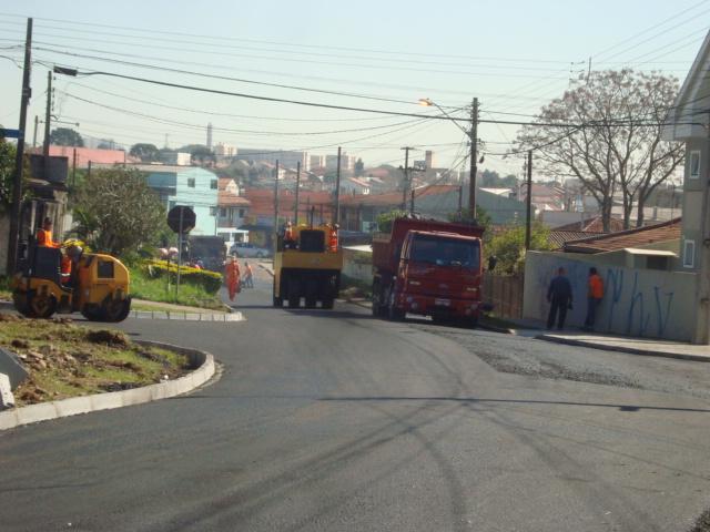 Revitalização da Rua Antônio Buso, entre as ruas Catulo da Paixão Cearense e Lourival Wendler, V. Centenário