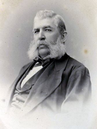 Laws as President of the University of Missouri in 1876. Image source:  SamuelLawsMissouri.jpg  (originally derived from   MIZZOU  magazine , May 21, 2014) by unknown author is licensed under  Public Domain Mark 1.0