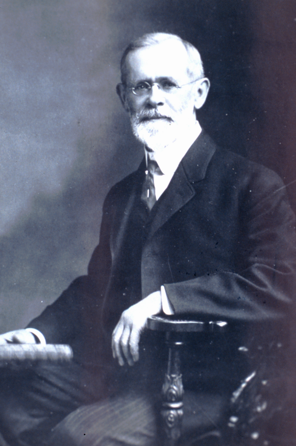 Professor Cleveland Abbe, circa 1900. Image source:  Professor Cleveland Abbe  by  National Oceanic and Atmospheric Administration /Department of Commerce is licensed under  Public Domain Mark 1.0