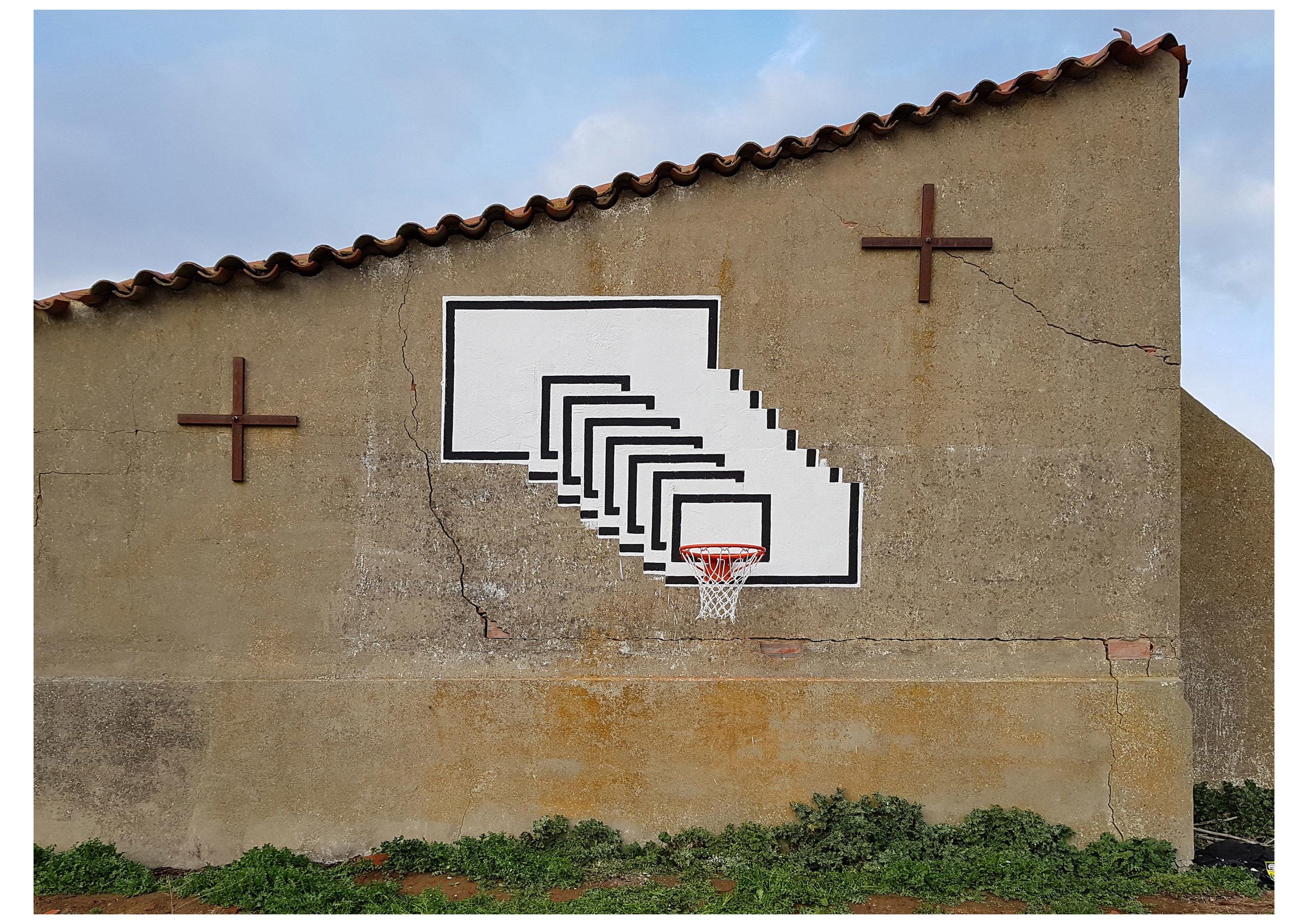 Inverse dunk