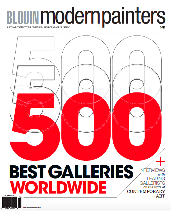 """Long-Sharp Gallery is honored to have been chosen again this year. as one of the """"500 Best Galleries Worldwide"""" by Blouin ArtInfo Modern Painters Magazine. Artists chosen this year include Andy Warhol, Robert Indiana, David Spiller, Gino Miles and Thalen & Thalen."""