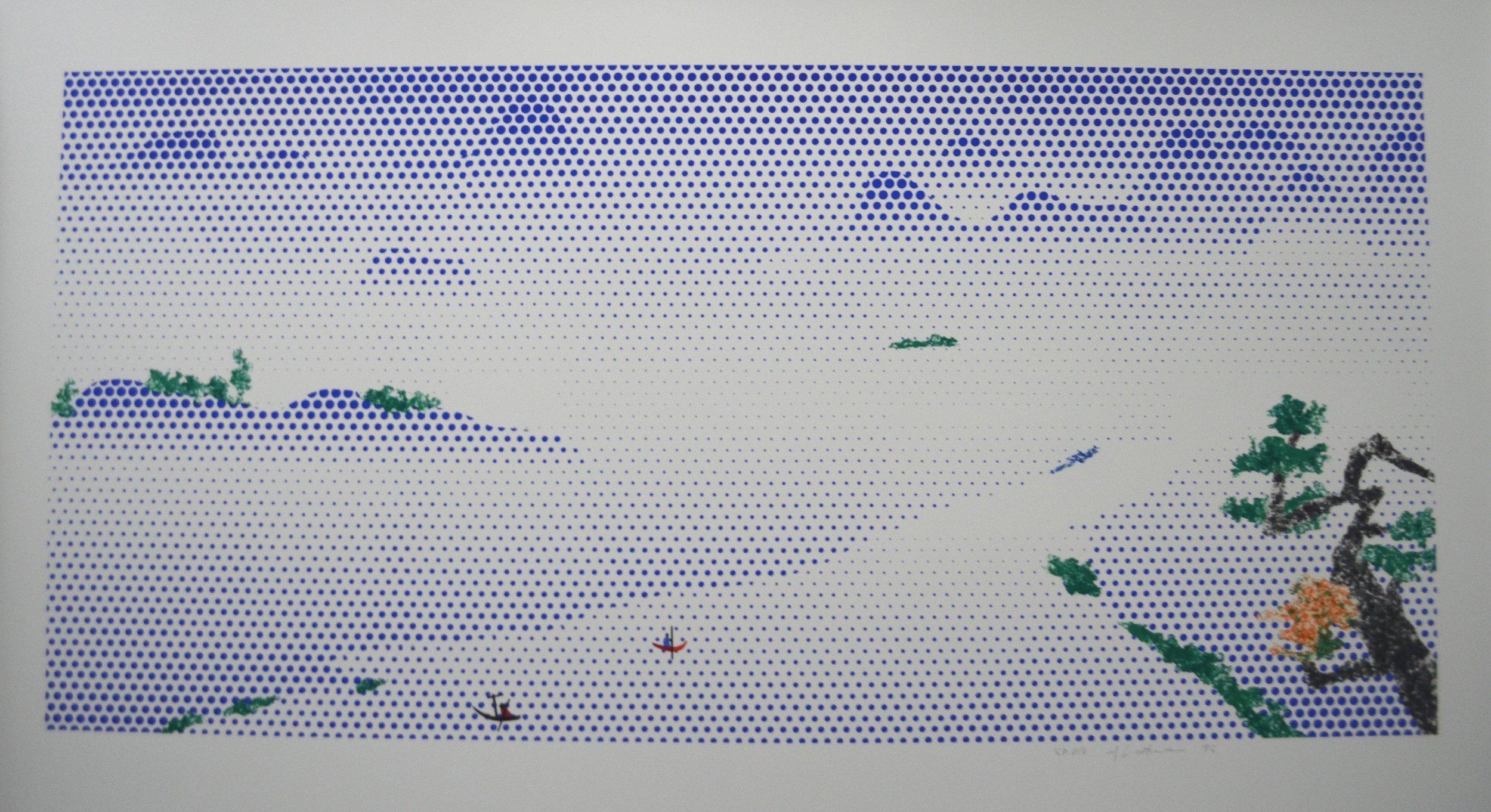 Roy Lichtenstein - Landscape with Boats