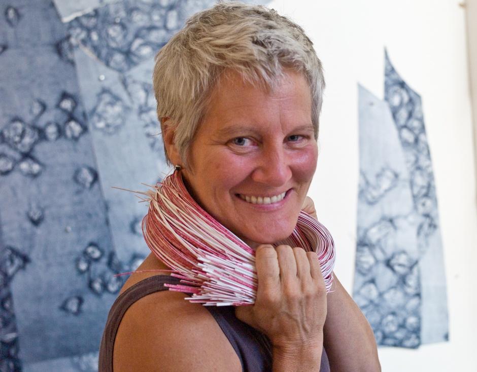 Portrait of artist Ann Hamilton