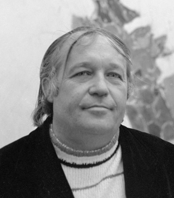 Portrait of artist Sam Francis