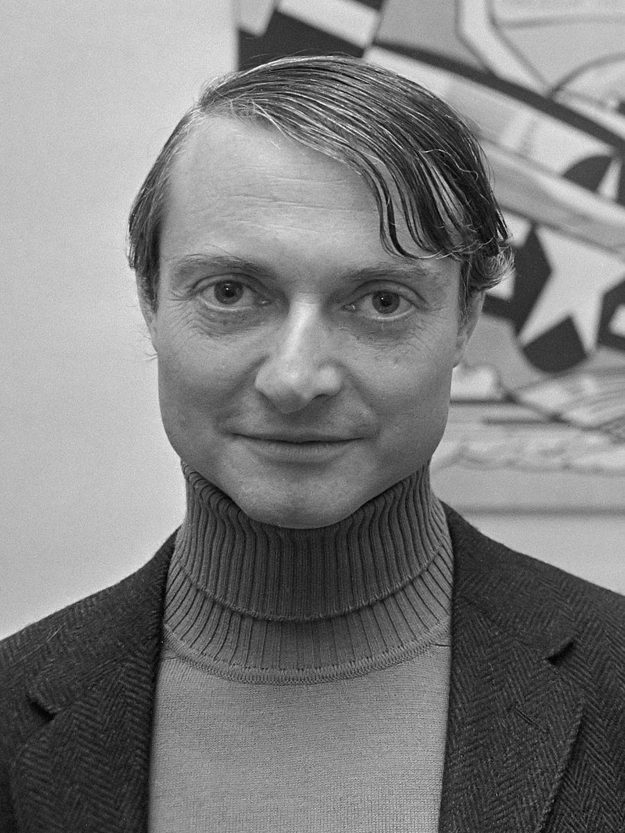 Portrait of Roy Lichtenstein