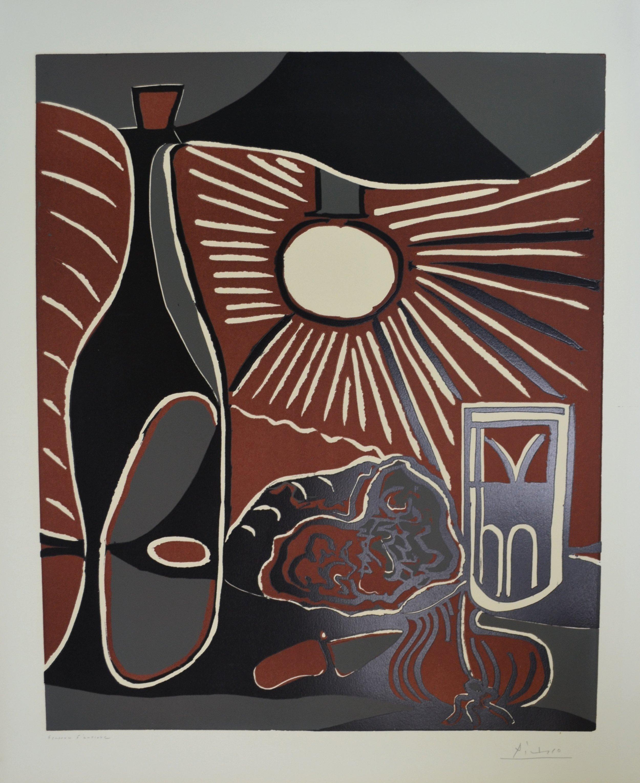 Picasso - Nature Morte a la Bouteille