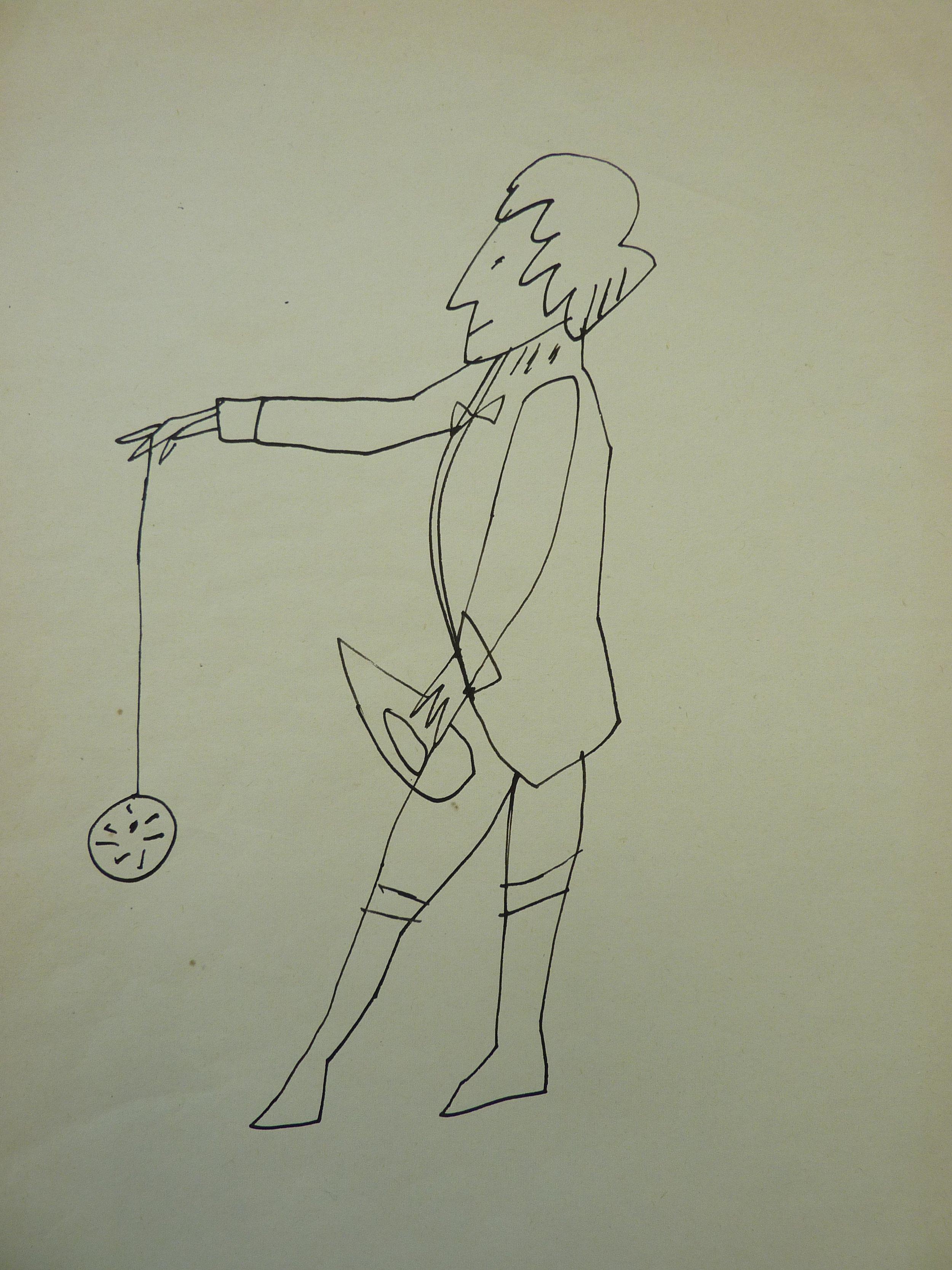 Andy Warhol - Standing Man with Yo-Yo