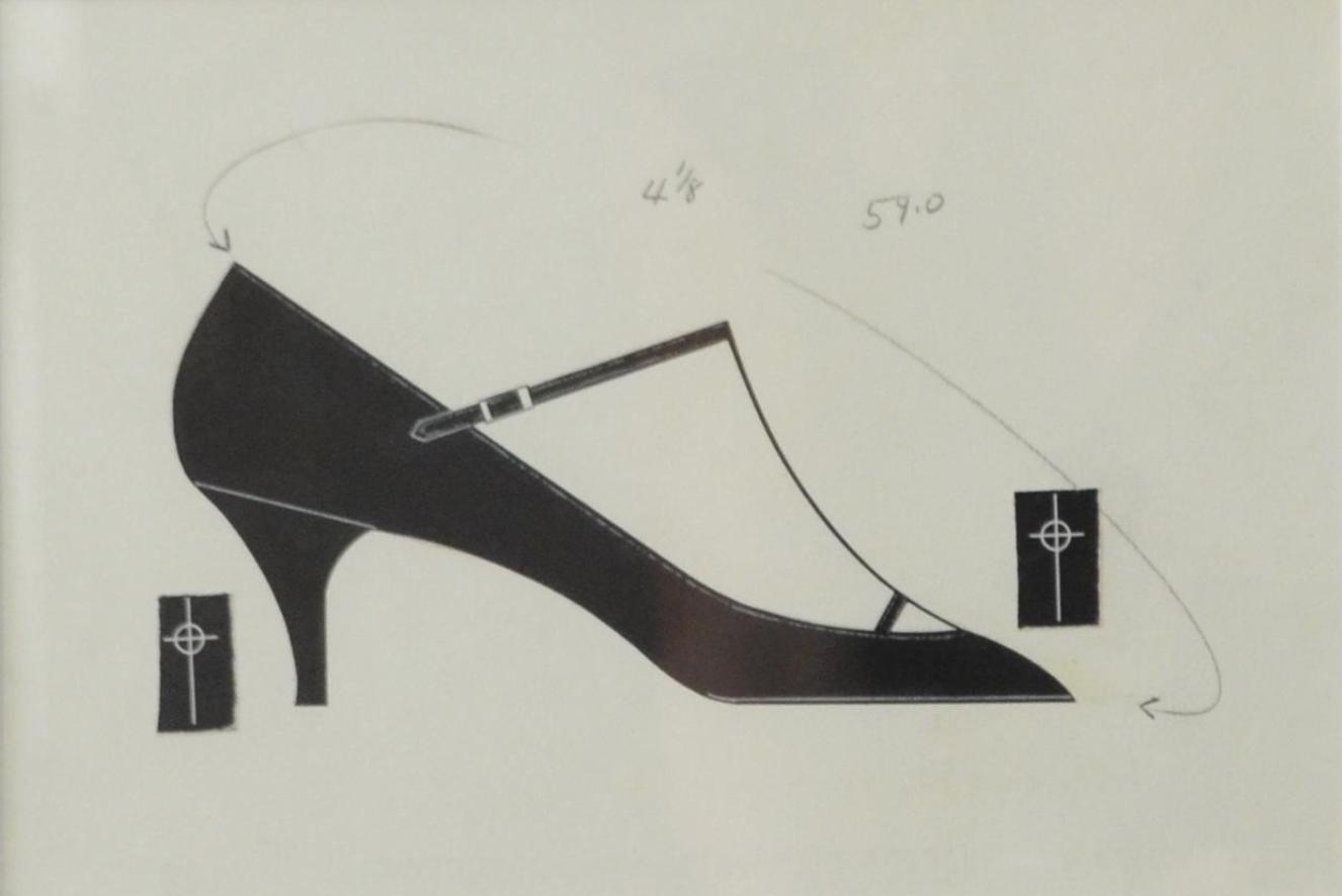 Andy Warhol - Shoe (Circa 1955) - Additional Information