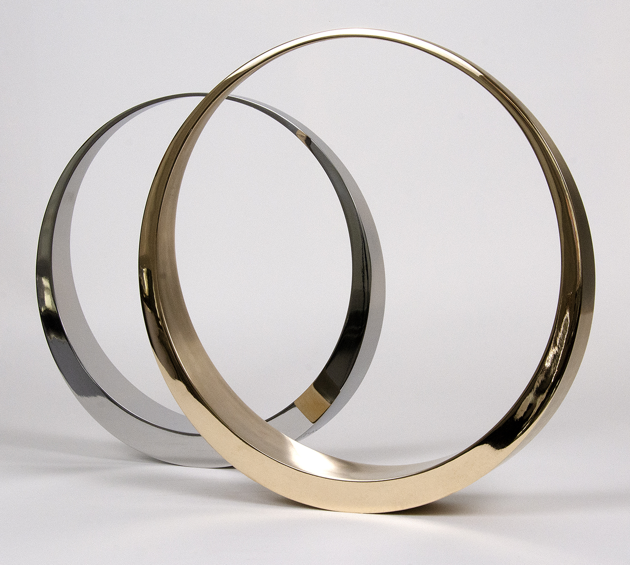 Bronze and Stainless steel Eclipse, additional view