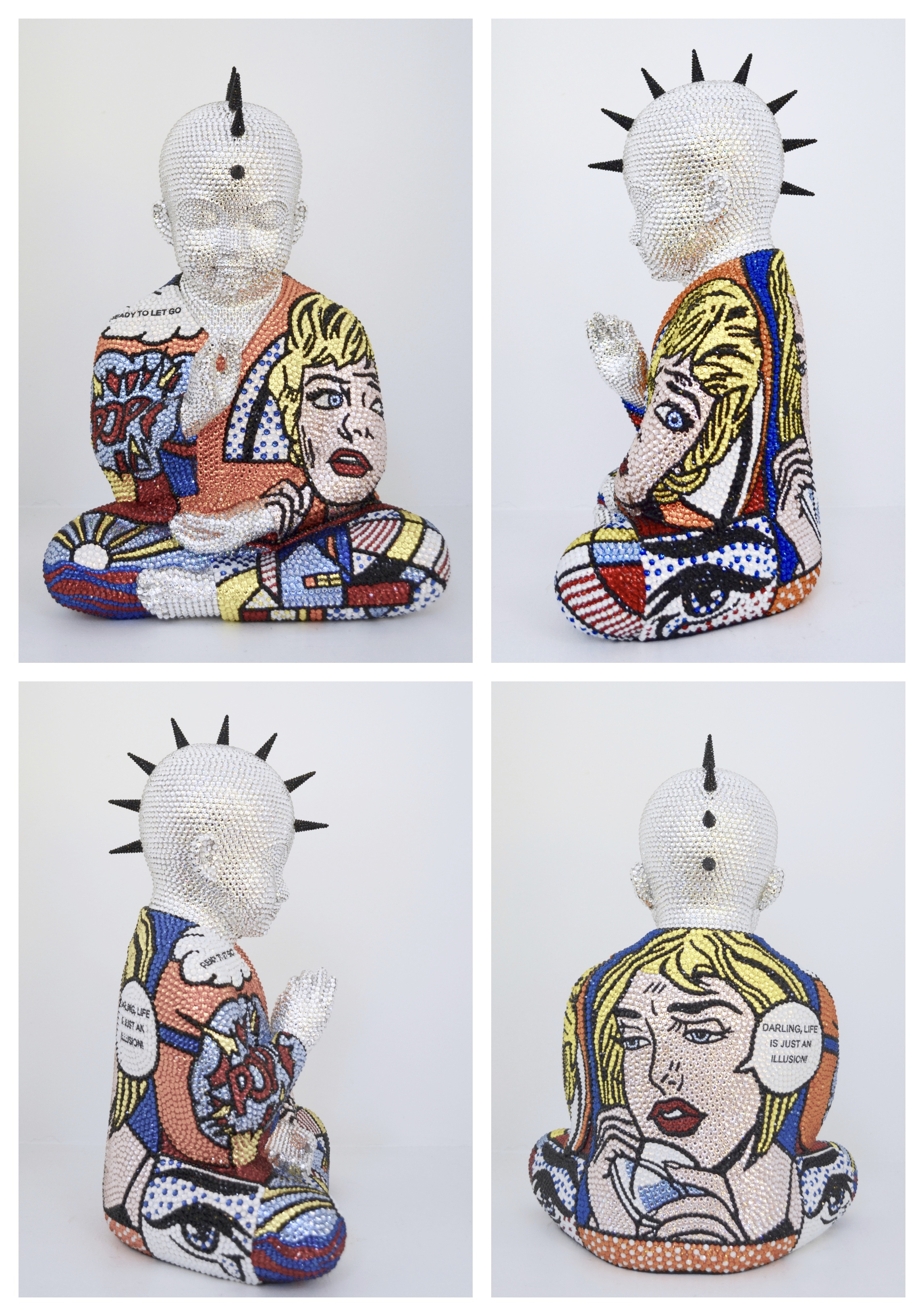 Roy Lichtenstein Sculpture Metis Atash
