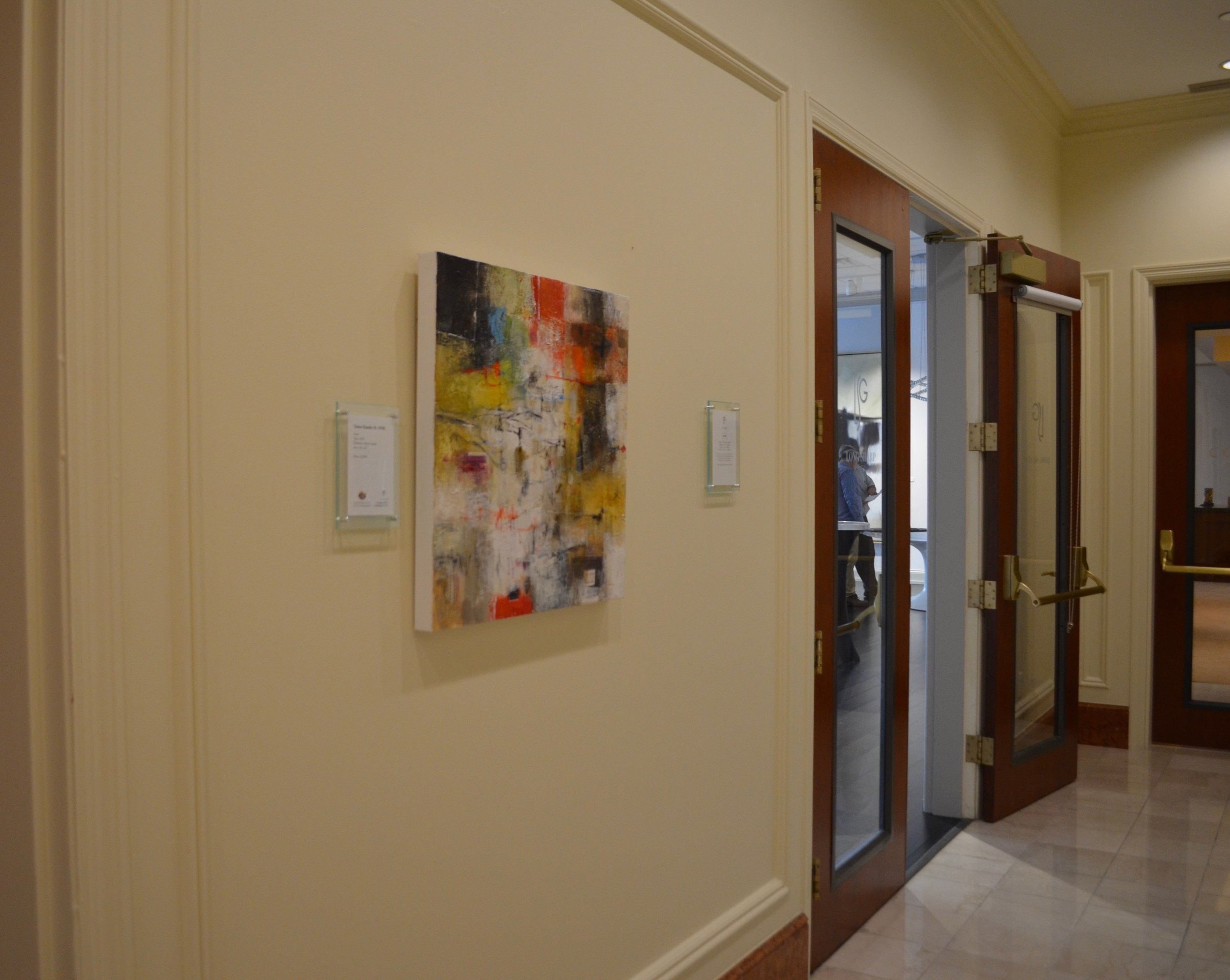 mixed media on canvas by tamar kander, door, additional images