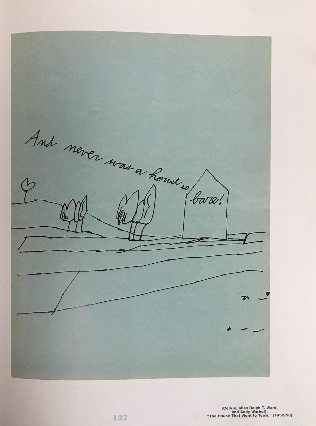 additional images of  The House That Went to Town  by andy warhol