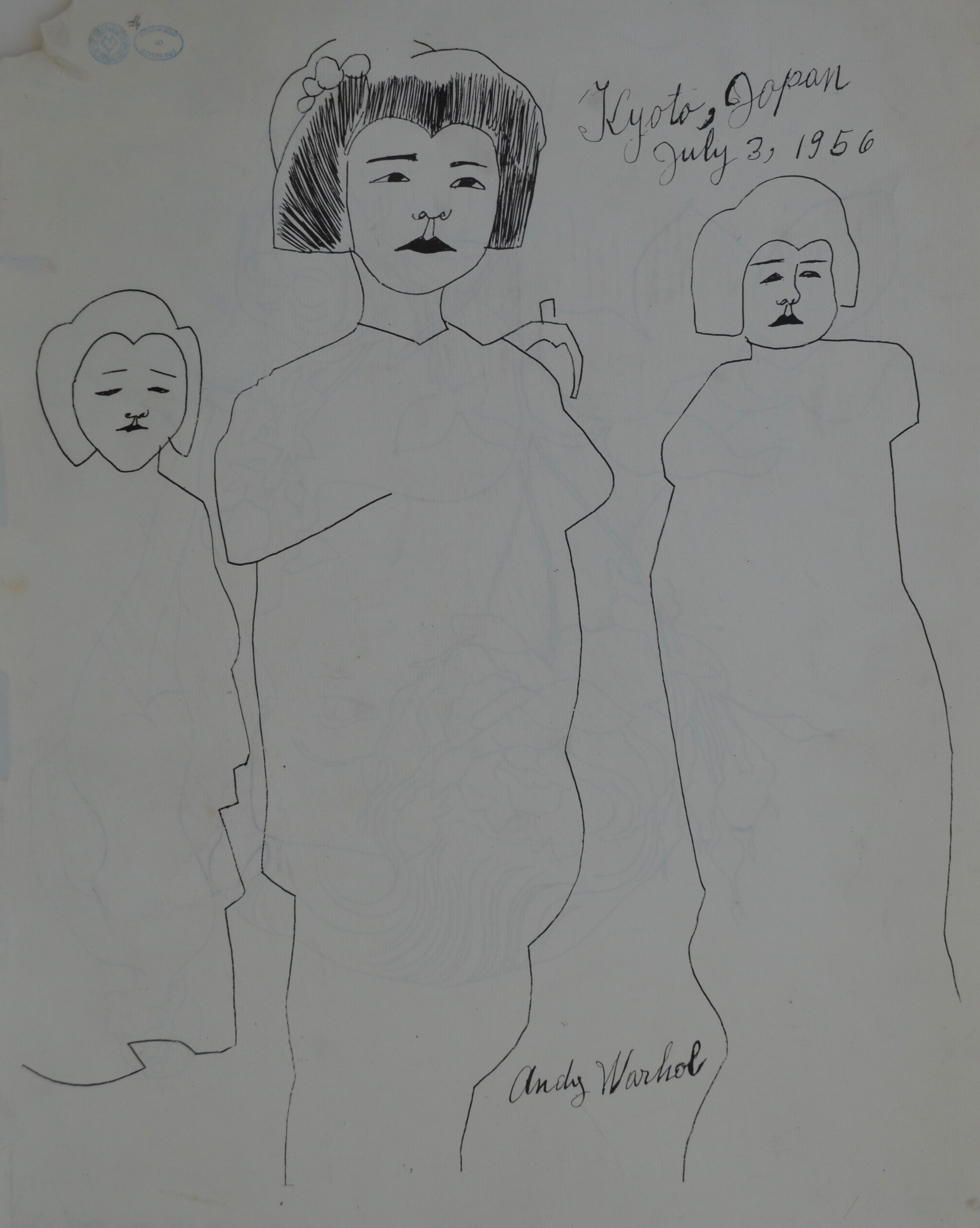 andy warhol work on paper