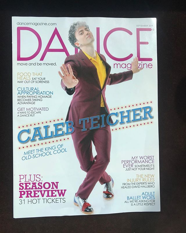 Dance Magazine cover?! 🤯😱 Big thanks to @emsplayground for writing the feature, @jaymethornton for the cover photos, Angela Hufff for grooming, and @saf.shoes for the dope shoes 💥 If you had told teen-aged me that I'd be on the cover of @dancemagazine , I'd say 🤯😷🤪😭😱😲 I'll post the full article soon. In the meantime, enjoy the big pictures 🎊 Rehearsal photos by @rachelpapo , photo of Bzzz by @emwatson.nyc + photo of Meet Ella by @scottshaw.photo // #dance #nyc #tapdance #press #jazzdance #dancemagazine