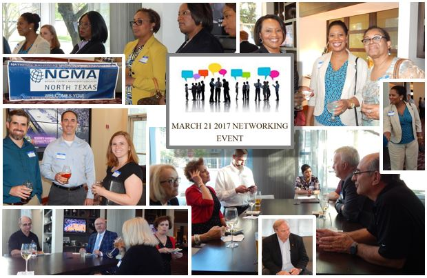 MARCH 2017 CHAPTER NETWORKING EVENT AT THE RENAISSANCE HOTEL - RICHARDSON, TX. SPONSORED BY DALLAS AREA RAPID TRANSIT (DART)