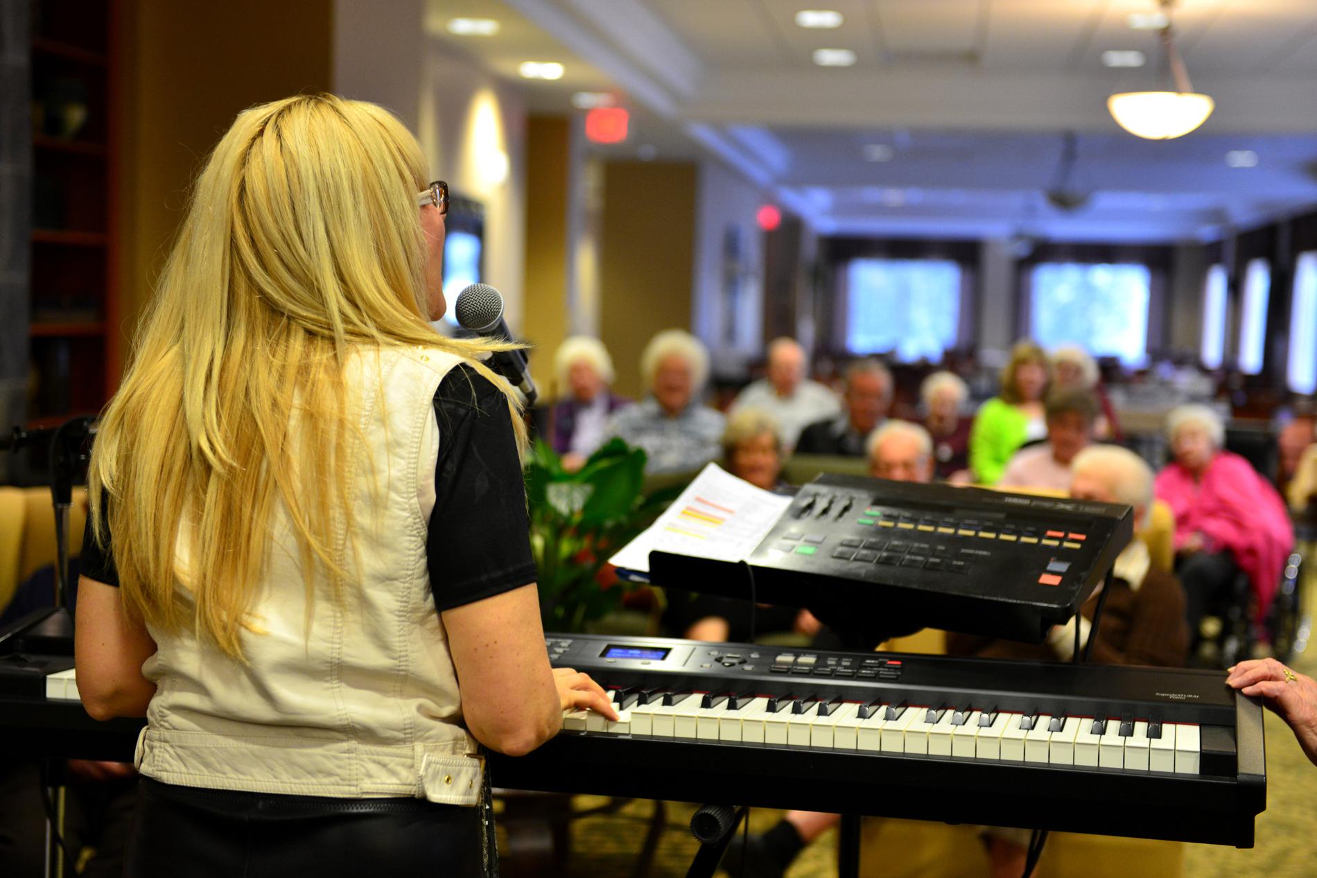 Granite Ridge Music Night. Click to view larger image.