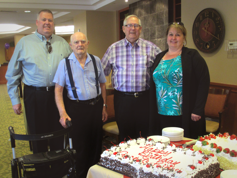 Granite Ridge 5th Birthday Celebration Lunch with Cake!