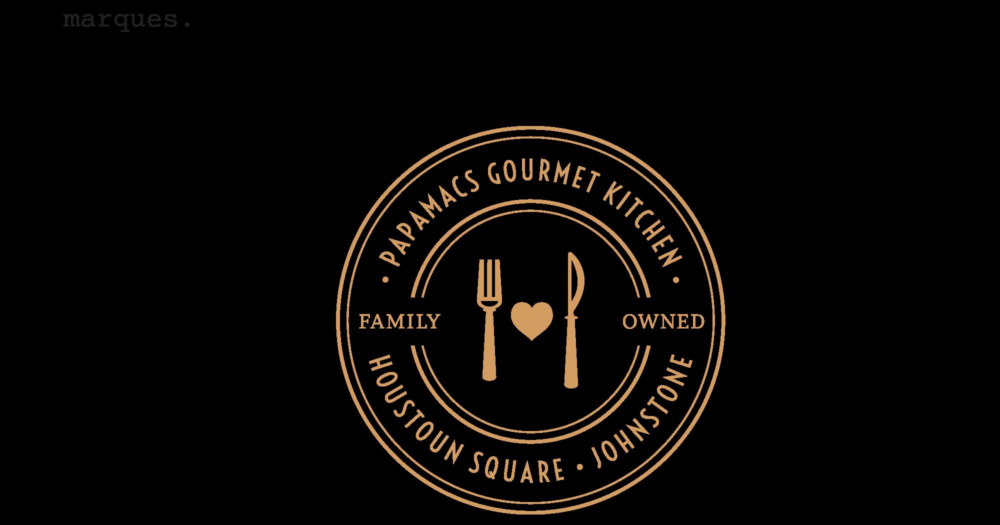 logo-marque-design-restaurant-papamacs-glasgow-johnstone
