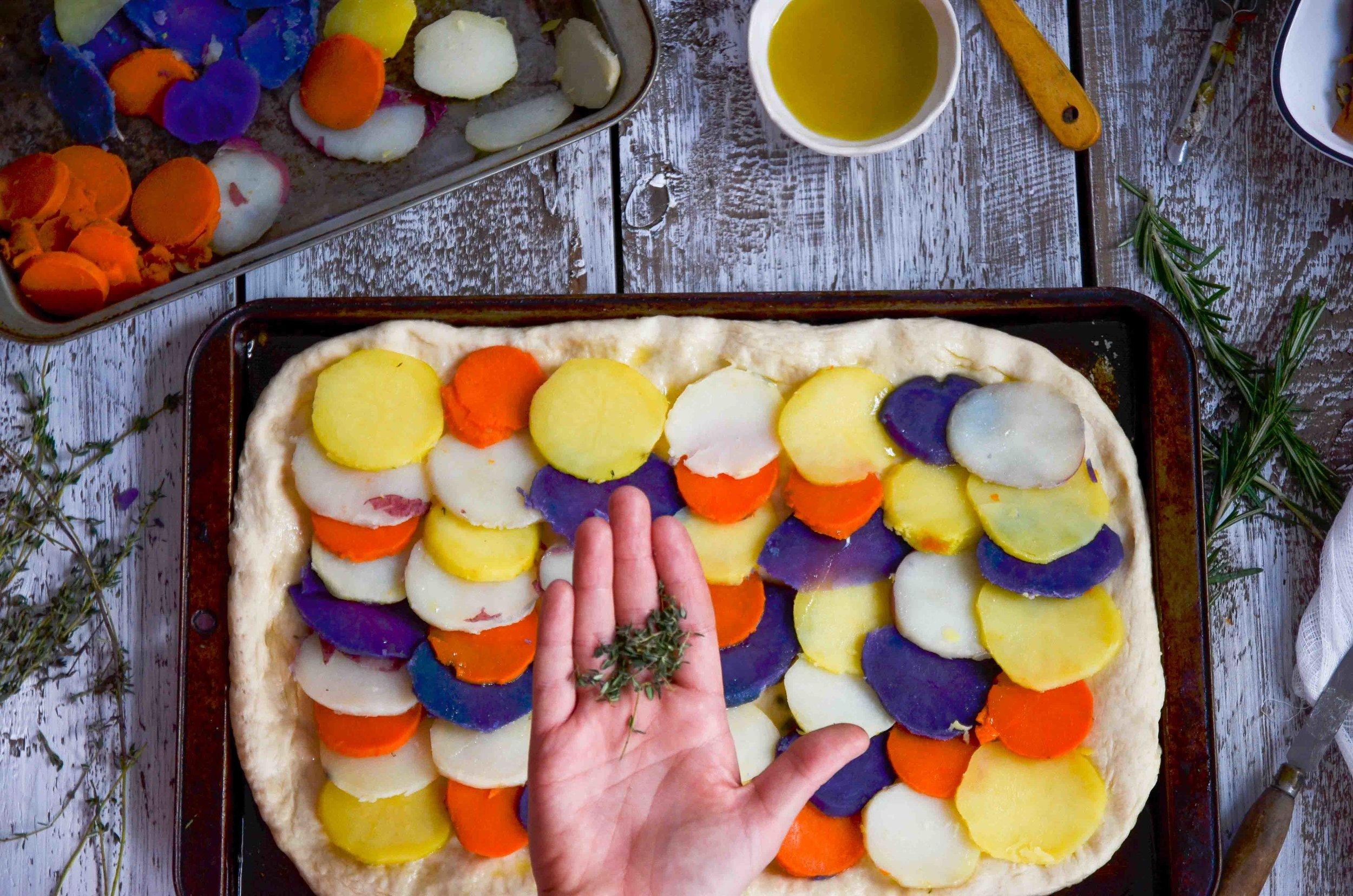 five potato pizza by fried parsley