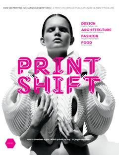 Print Shift magazine front cover