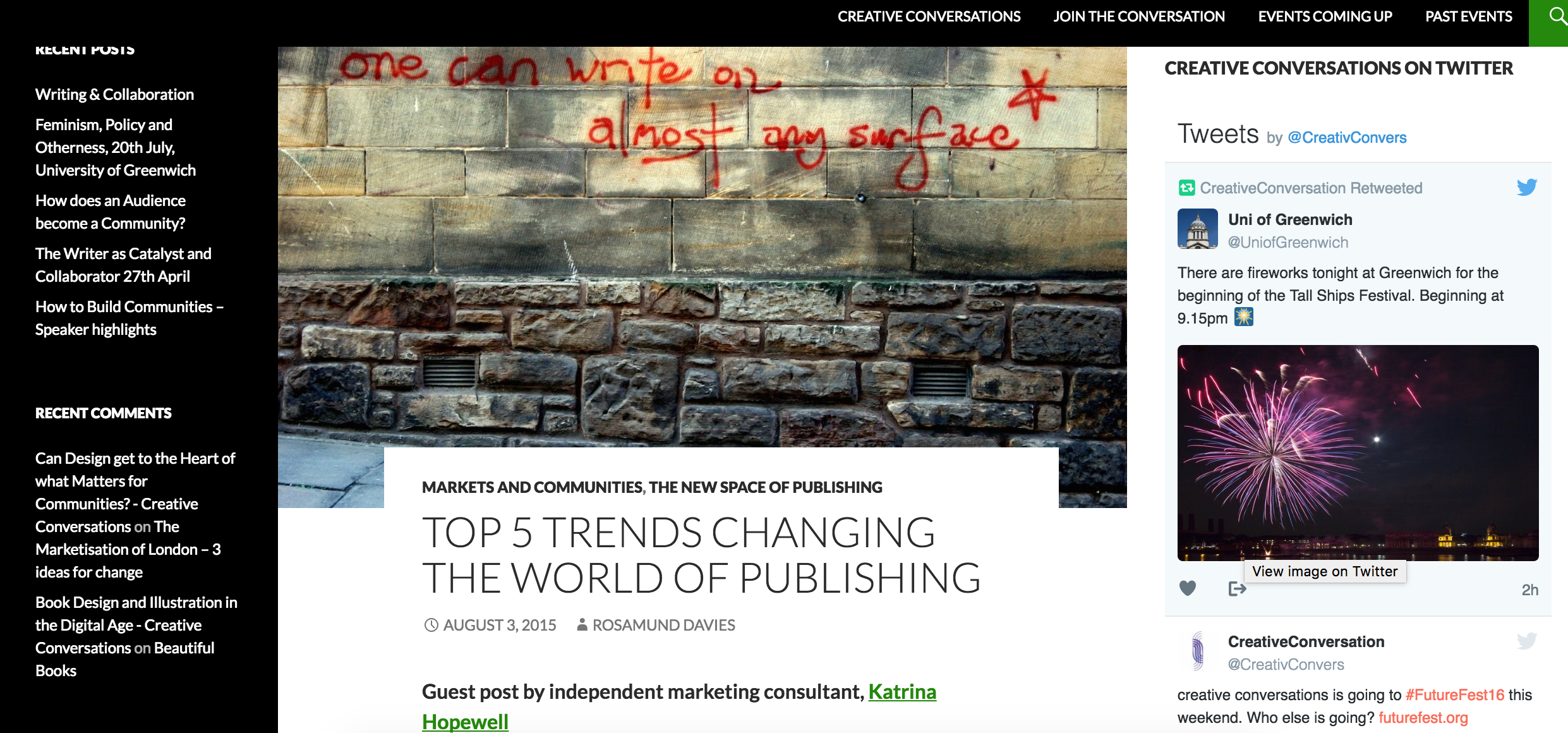 The five top trends changing the world of publishing