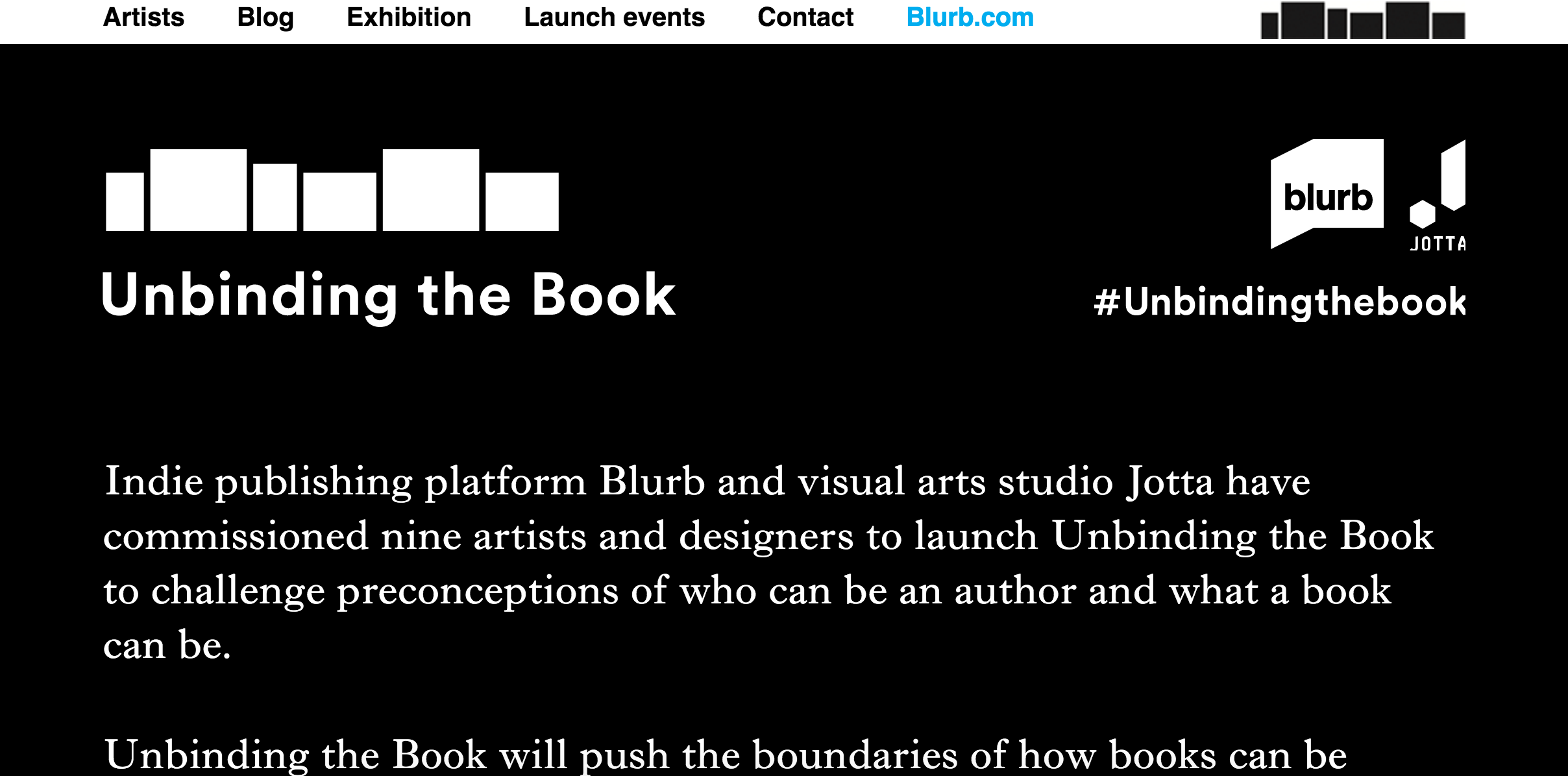 Unbinding the book