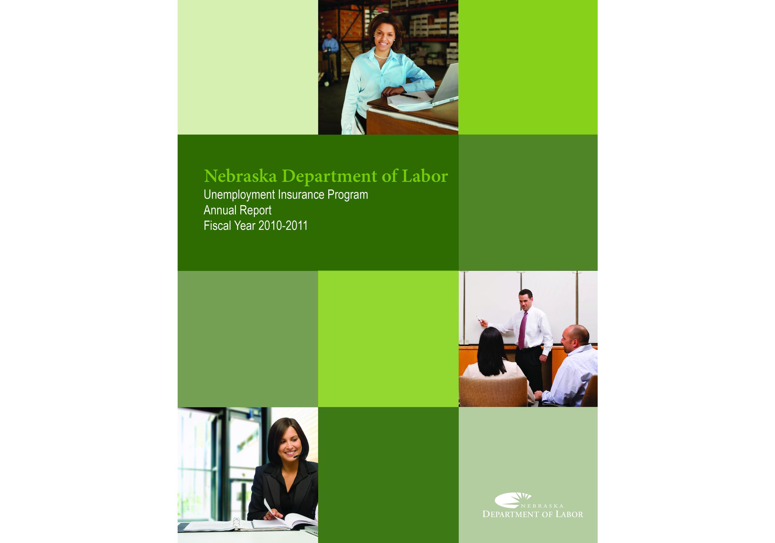 Unemployment Insurance Program Annual Report | 2011