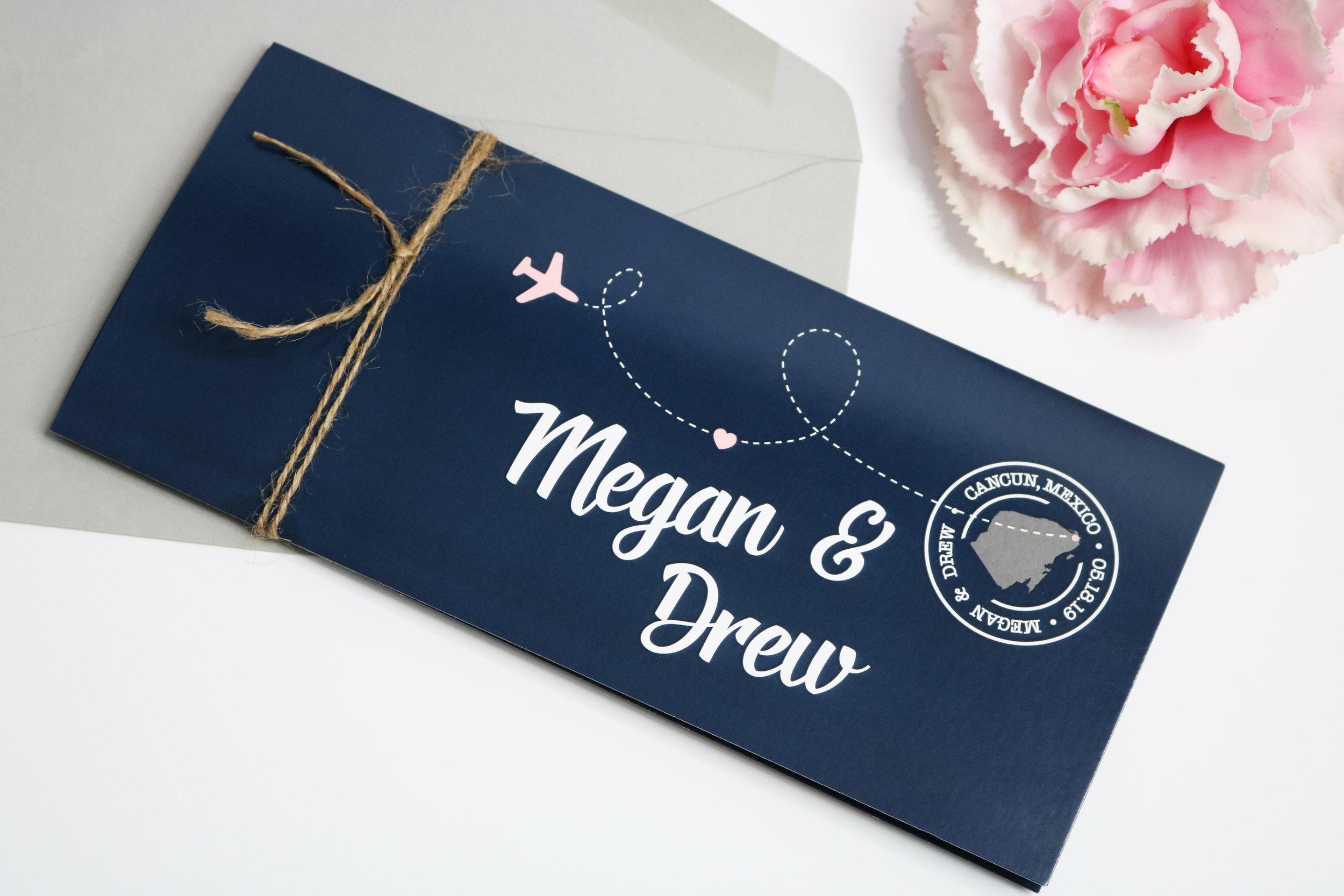 MEGAN + DREW