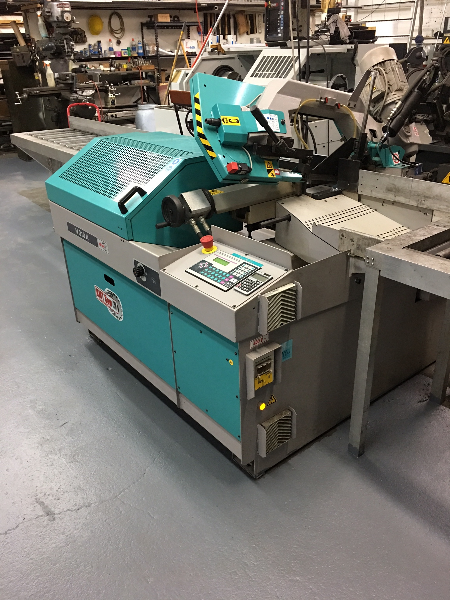 Numerically Controlled Bandsaw