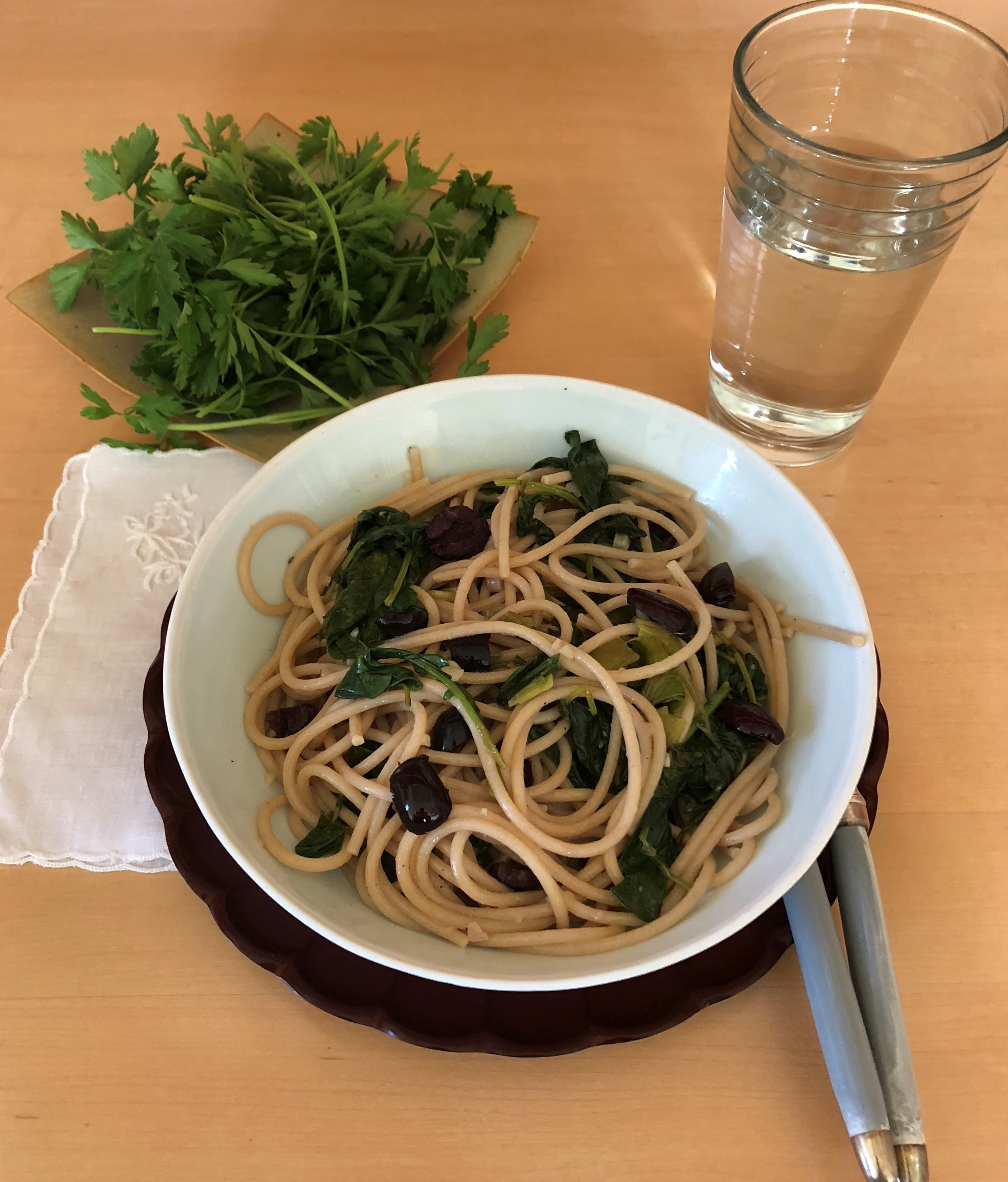 Whole Wheat Spaghetti with Baby Kale.jpg