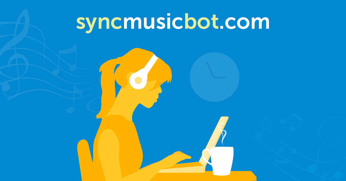 Try Sync Music Bot - say hi to better studying with music