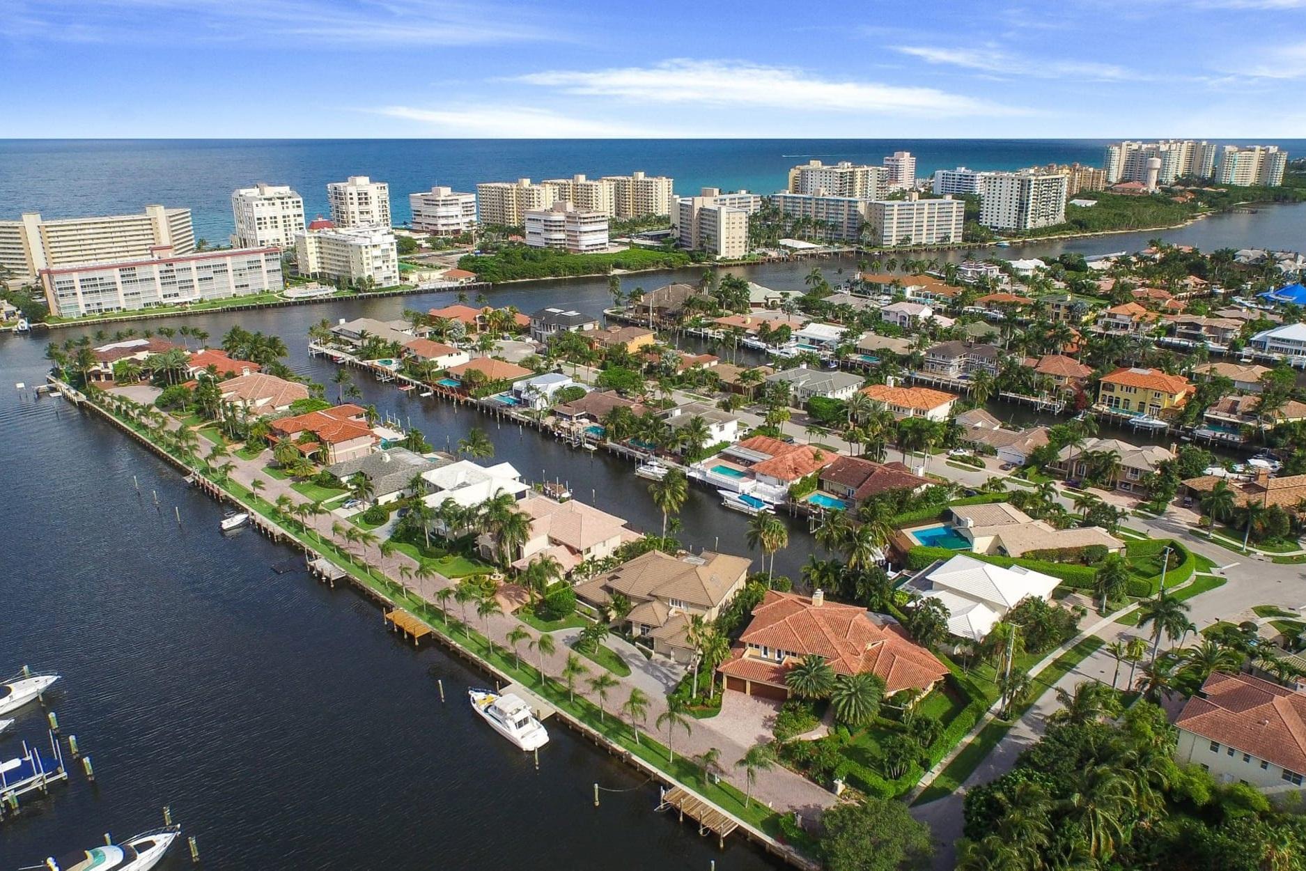 Boca Raton Waterfront Homes -