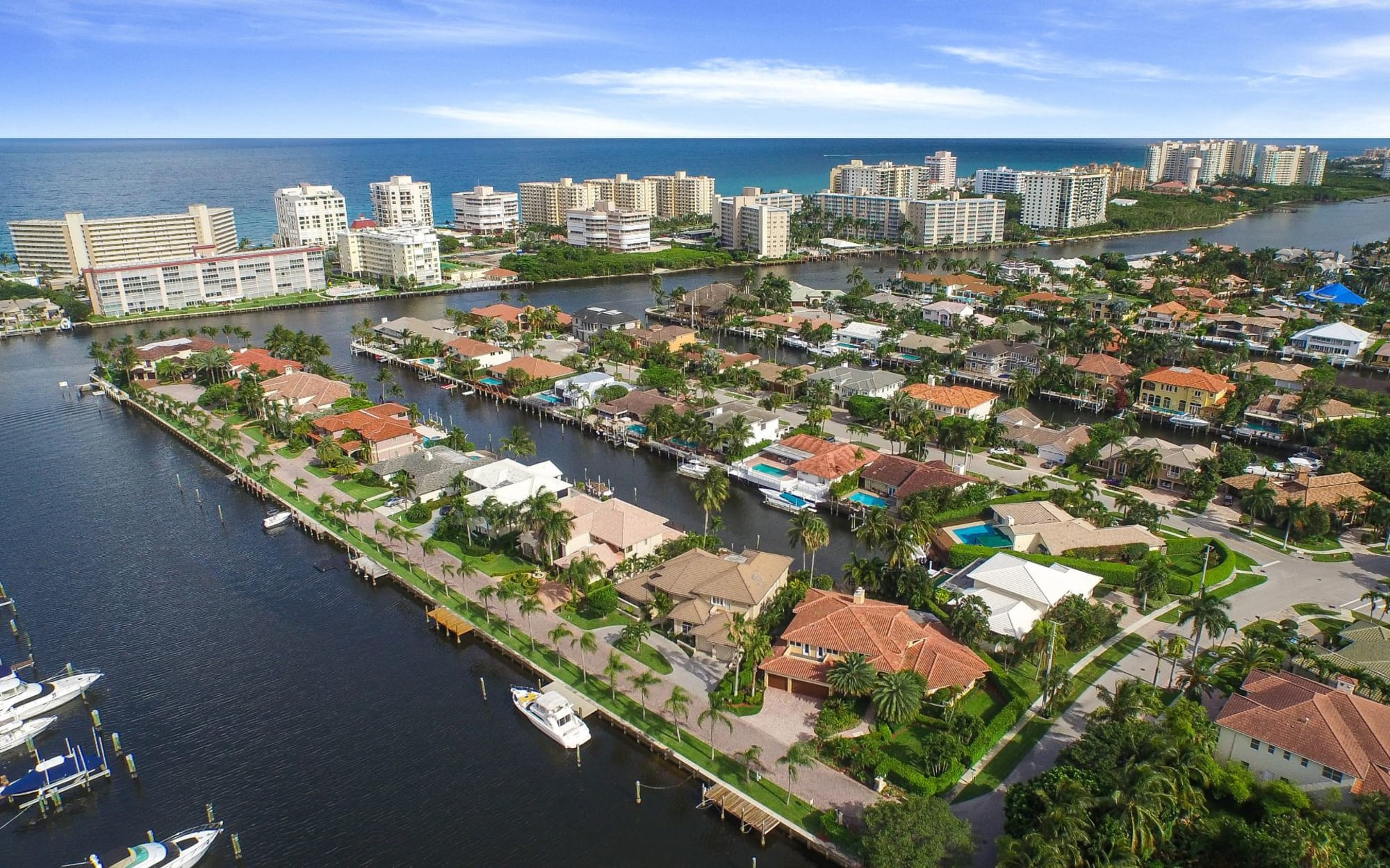 Boca Raton Waterfront Homes