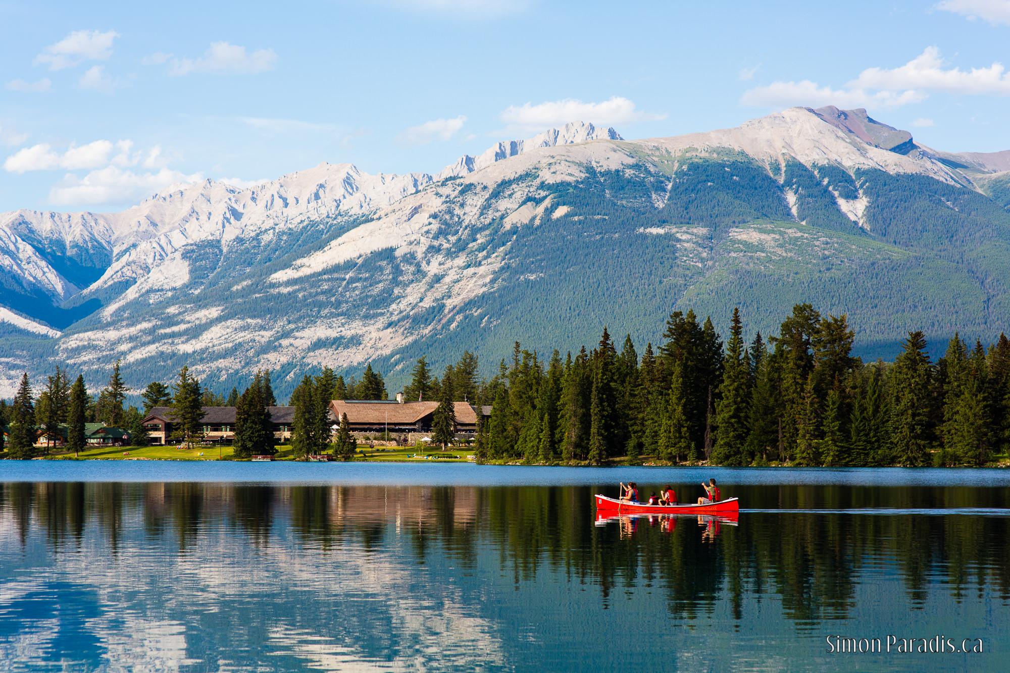 Beauvert Lake, Jasper, Canada