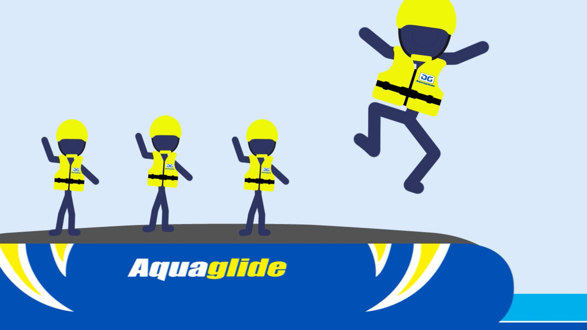 Aquaglide - ANIMATION • ILLUSTRATION