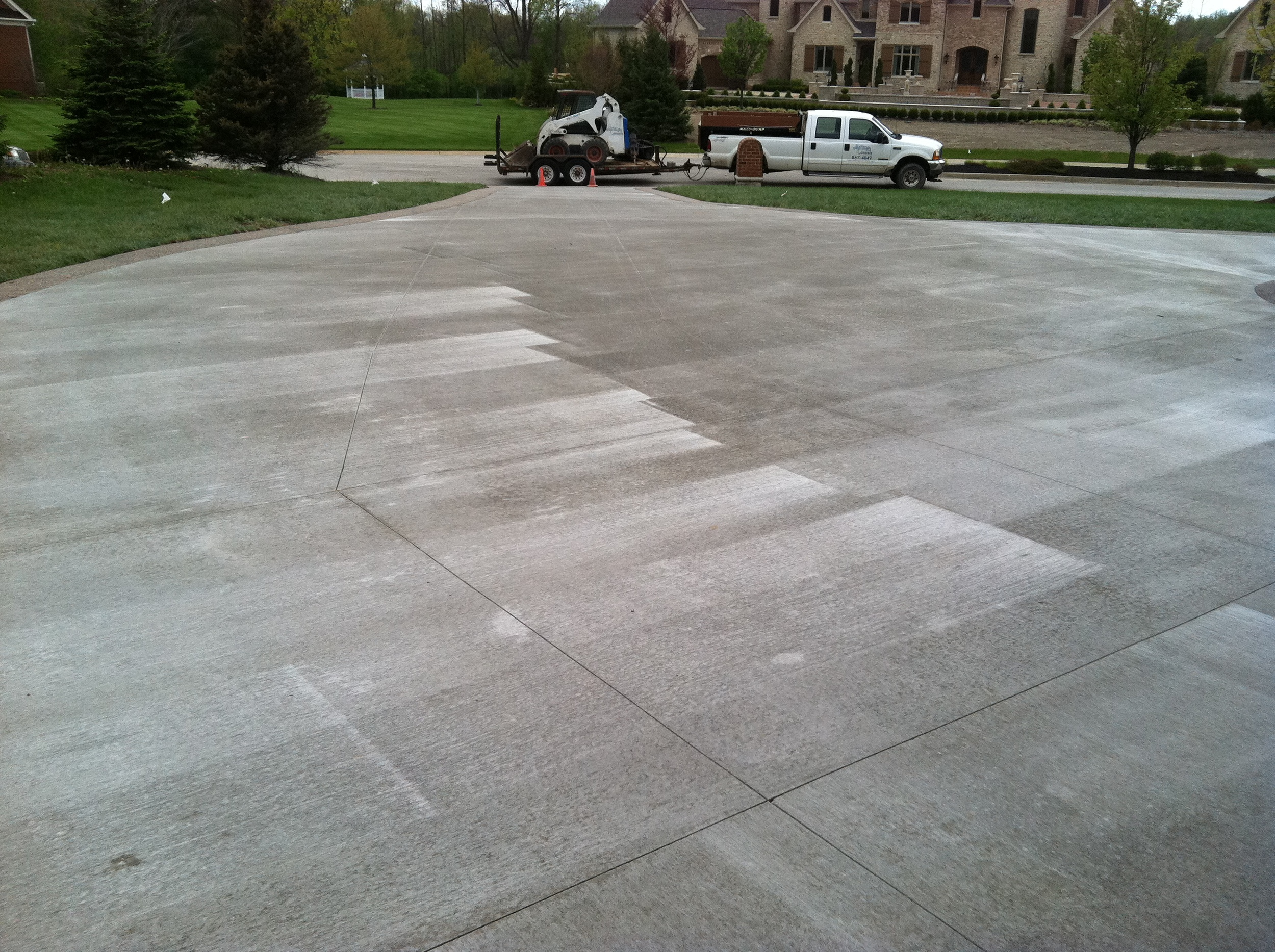 Standard Brush Finish — Mattingly Concrete Inc